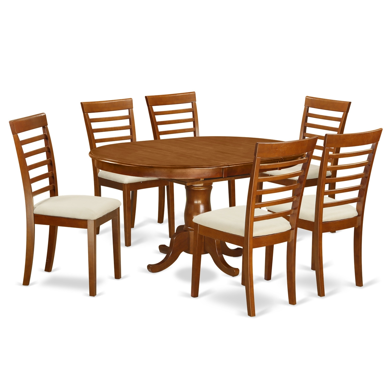 100 K House: Loon Peak Matterhorn 7 Piece Dining Set Amp; Reviews For Latest Bradford 7 Piece Dining Sets With Bardstown Side Chairs (Image 1 of 20)