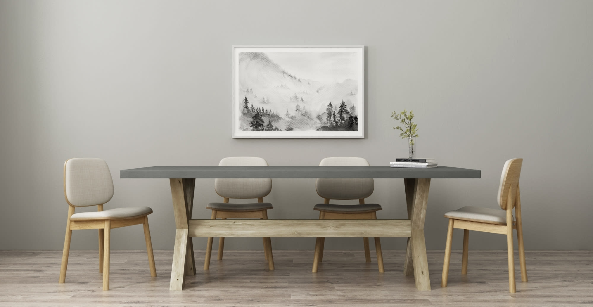 12 Dining Table Styles & Designs To Choose From | Brosa In Recent Helms Rectangle Dining Tables (Image 1 of 20)