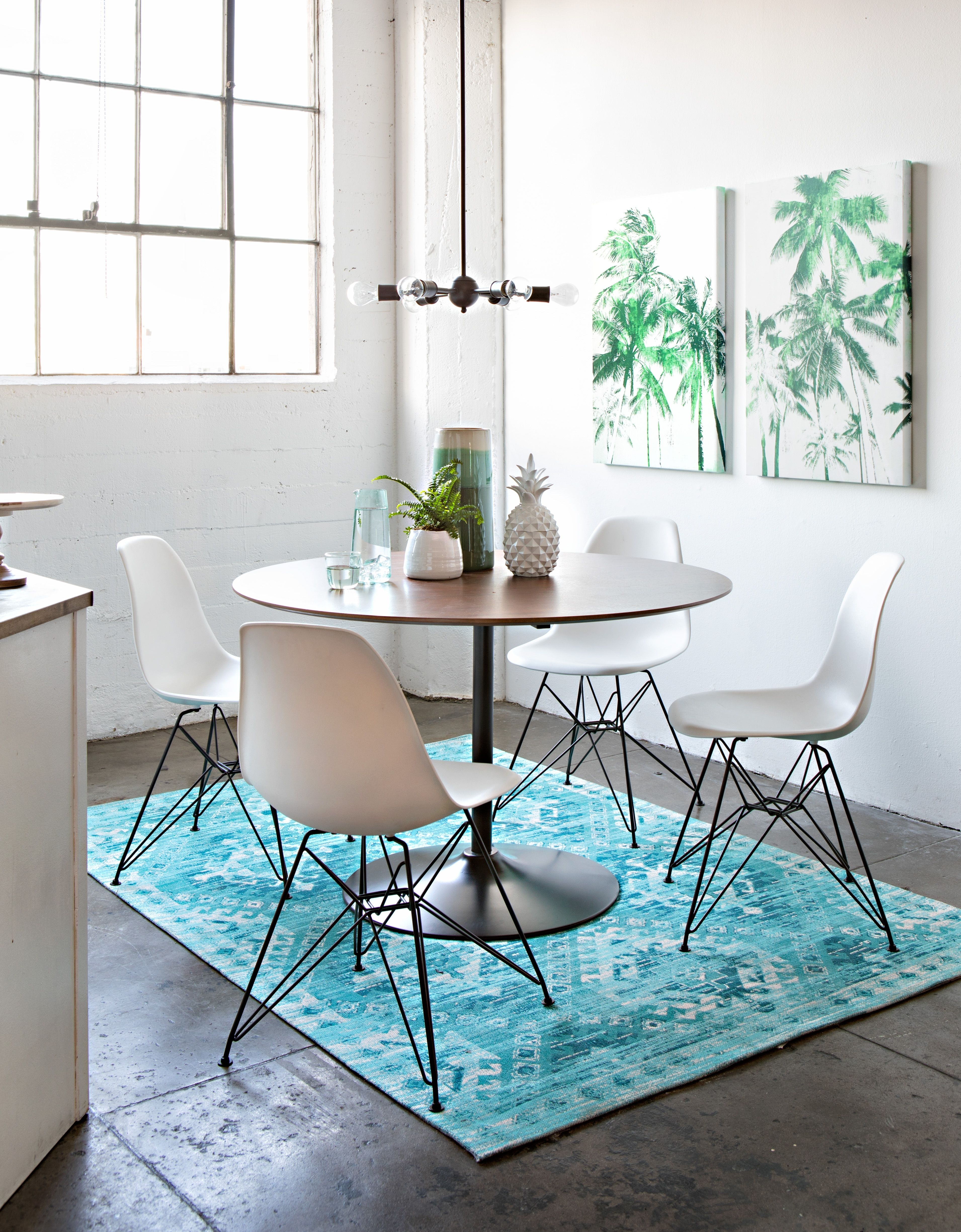 142 Best Dining Rooms Images On Pinterest In 2018 | Buffet, Diners Pertaining To Most Recently Released Weaver Dark 7 Piece Dining Sets With Alexa White Side Chairs (Image 1 of 20)