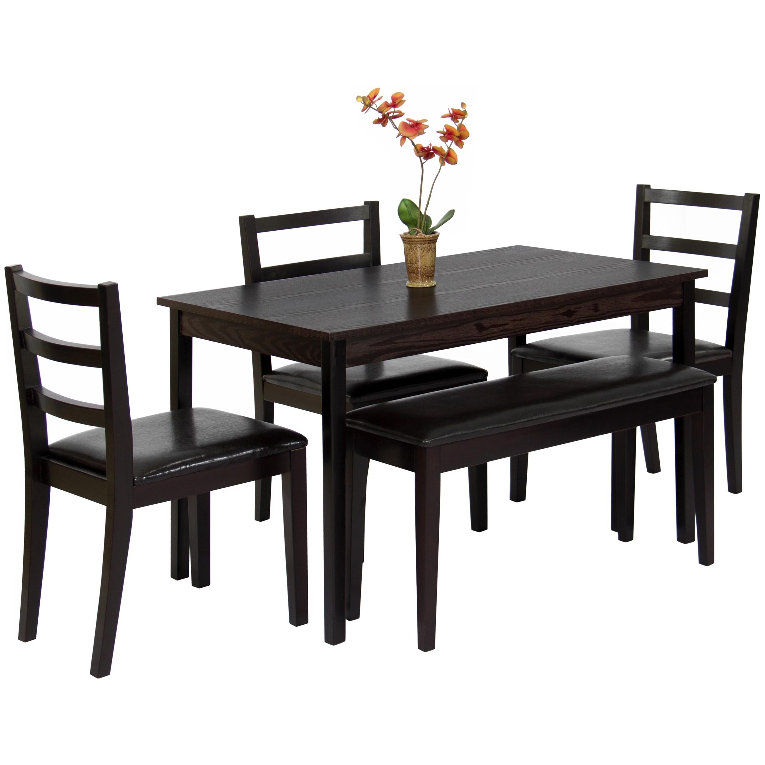 17 Beautiful 5 Piece Wood Dining Set | Interiorz (View 10 of 20)