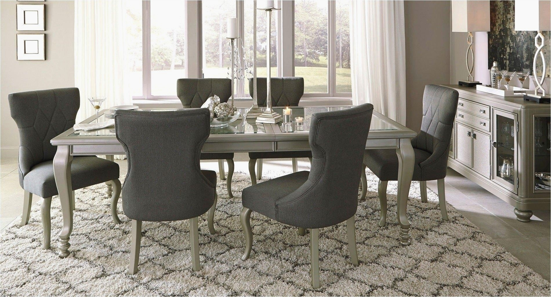 28 Lovely Grey Dining Room Furniture – Smart Home Ideas In Current Jaxon Grey Round Extension Dining Tables (Image 1 of 20)