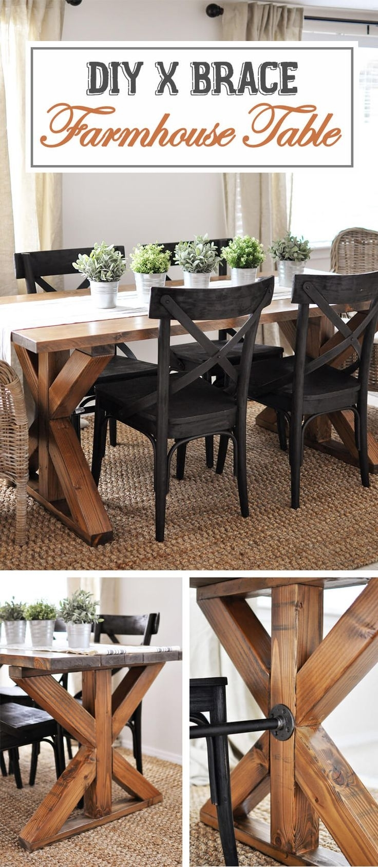 287 Best Furniture Images On Pinterest | Woodworking, Furniture And Throughout Most Recent Wyatt 7 Piece Dining Sets With Celler Teal Chairs (Image 2 of 20)