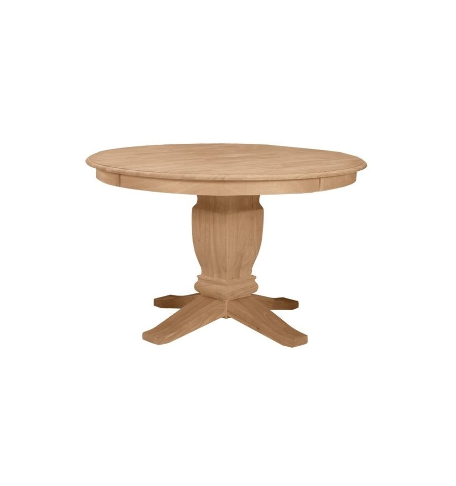 48 Inch] Solid Dining Table – Simply Woods Furniture | Opelika, Al Throughout Most Up To Date Portland 78 Inch Dining Tables (Image 1 of 20)