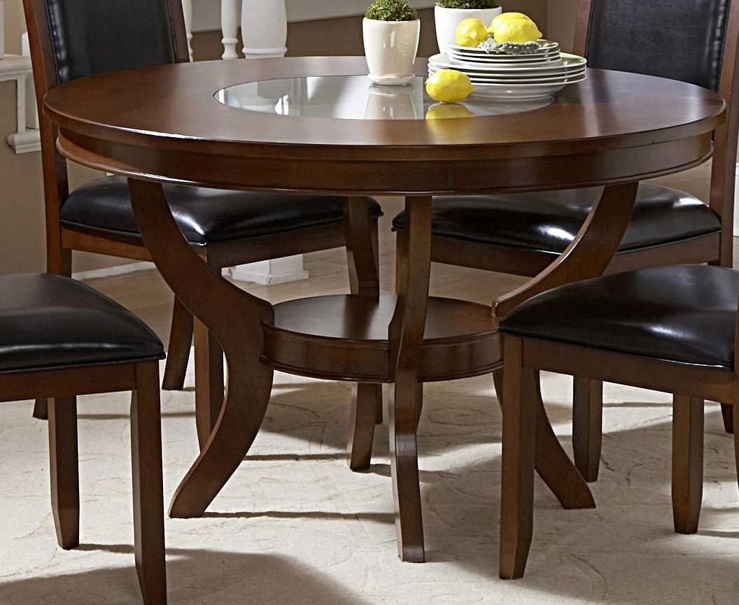 48 Round Dining Table Set – Castrophotos With Regard To Best And Newest Caira Black Round Dining Tables (Image 1 of 20)
