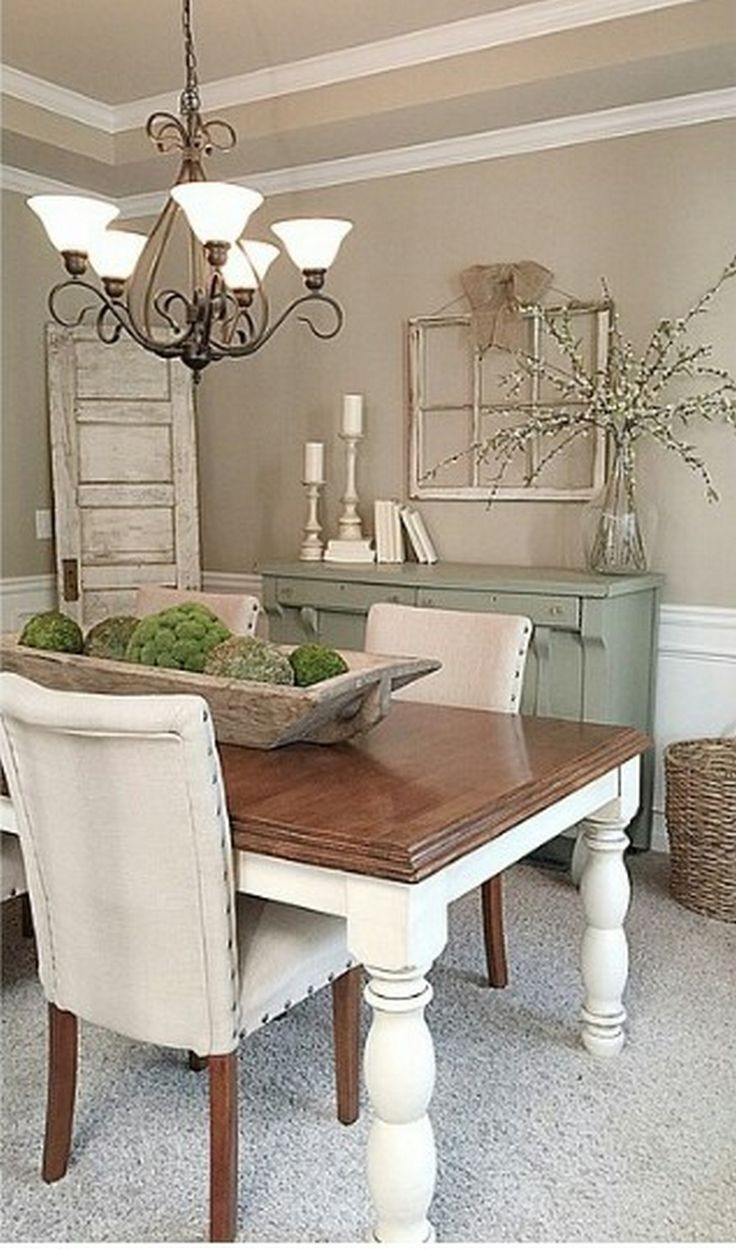 485 Best Decor Images On Pinterest | Bathrooms, Deko And Home Ideas Within Newest Bale Rustic Grey 7 Piece Dining Sets With Pearson Grey Side Chairs (View 11 of 20)