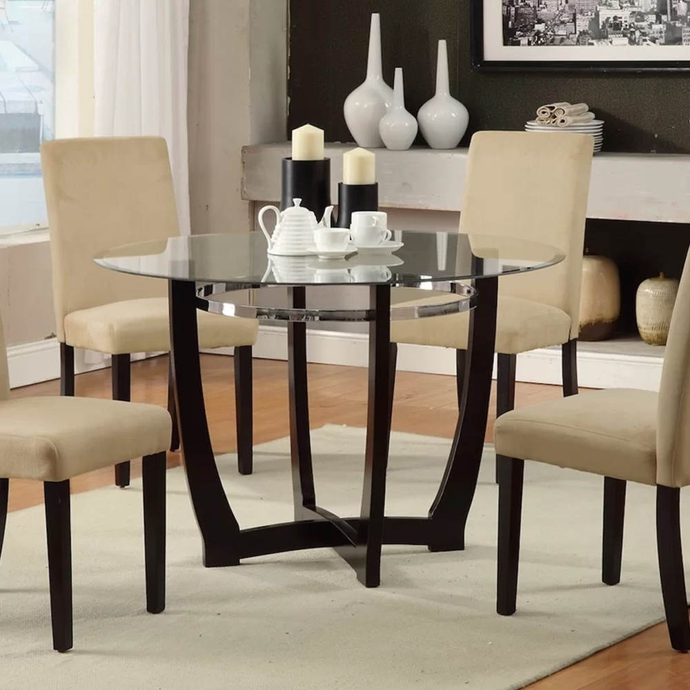 5 Piece Dining Set – Home Decor Furniture Regarding Best And Newest Caden 5 Piece Round Dining Sets With Upholstered Side Chairs (View 11 of 20)