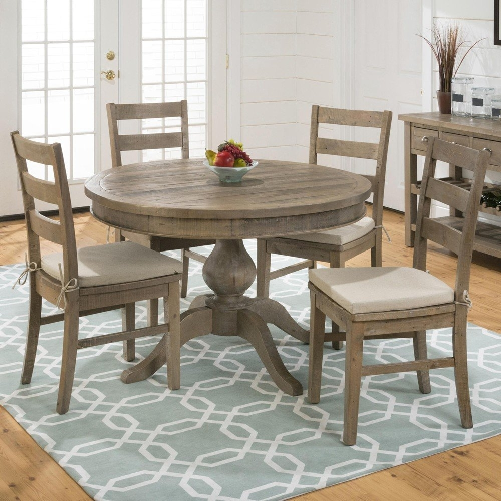 5 Piece Round Dining Table Set – Castrophotos Inside Most Recent Macie 5 Piece Round Dining Sets (View 4 of 20)