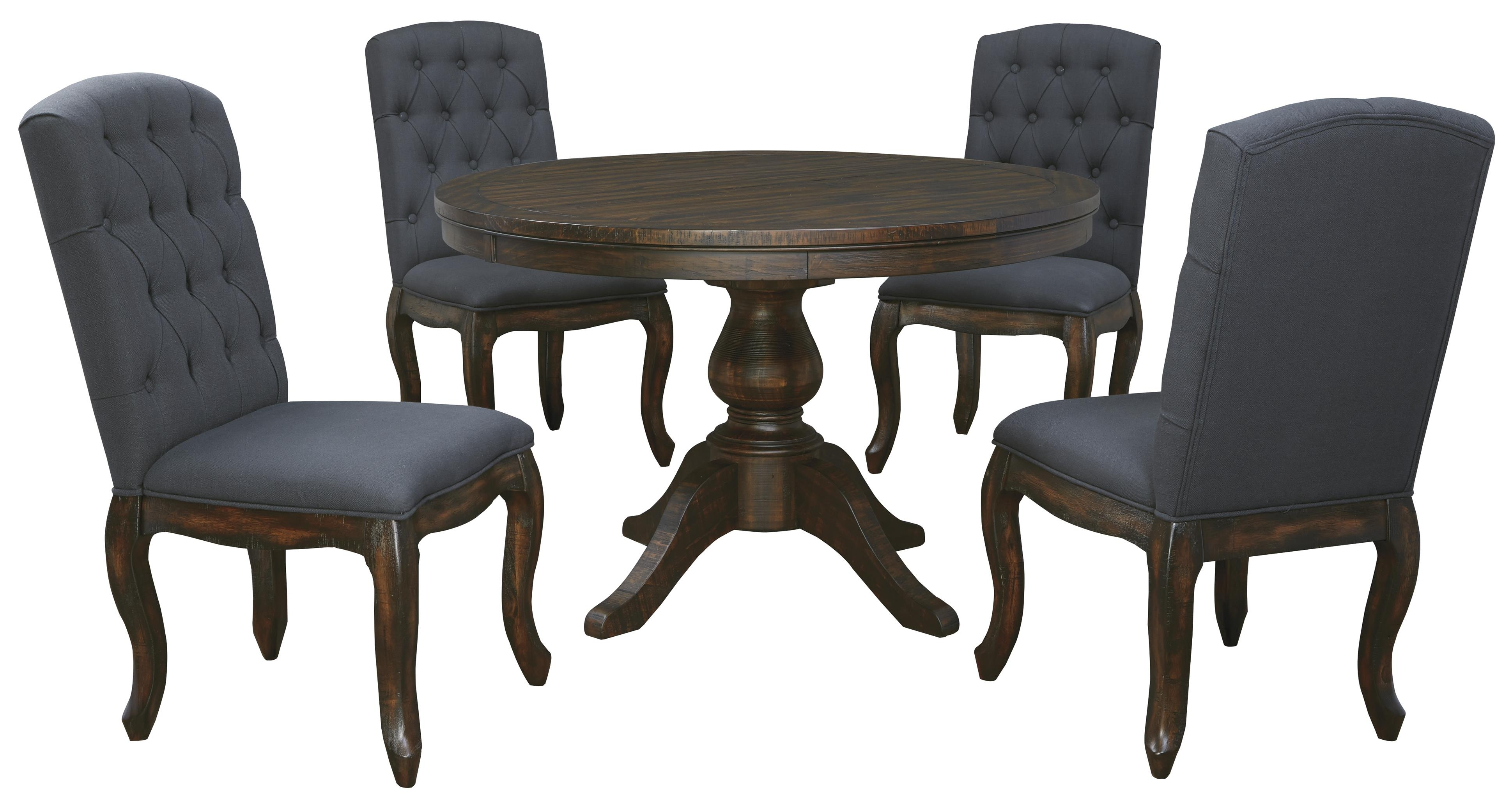 5 Piece Round Dining Table Set – Castrophotos Inside Most Recently Released Macie Round Dining Tables (Photo 17 of 20)