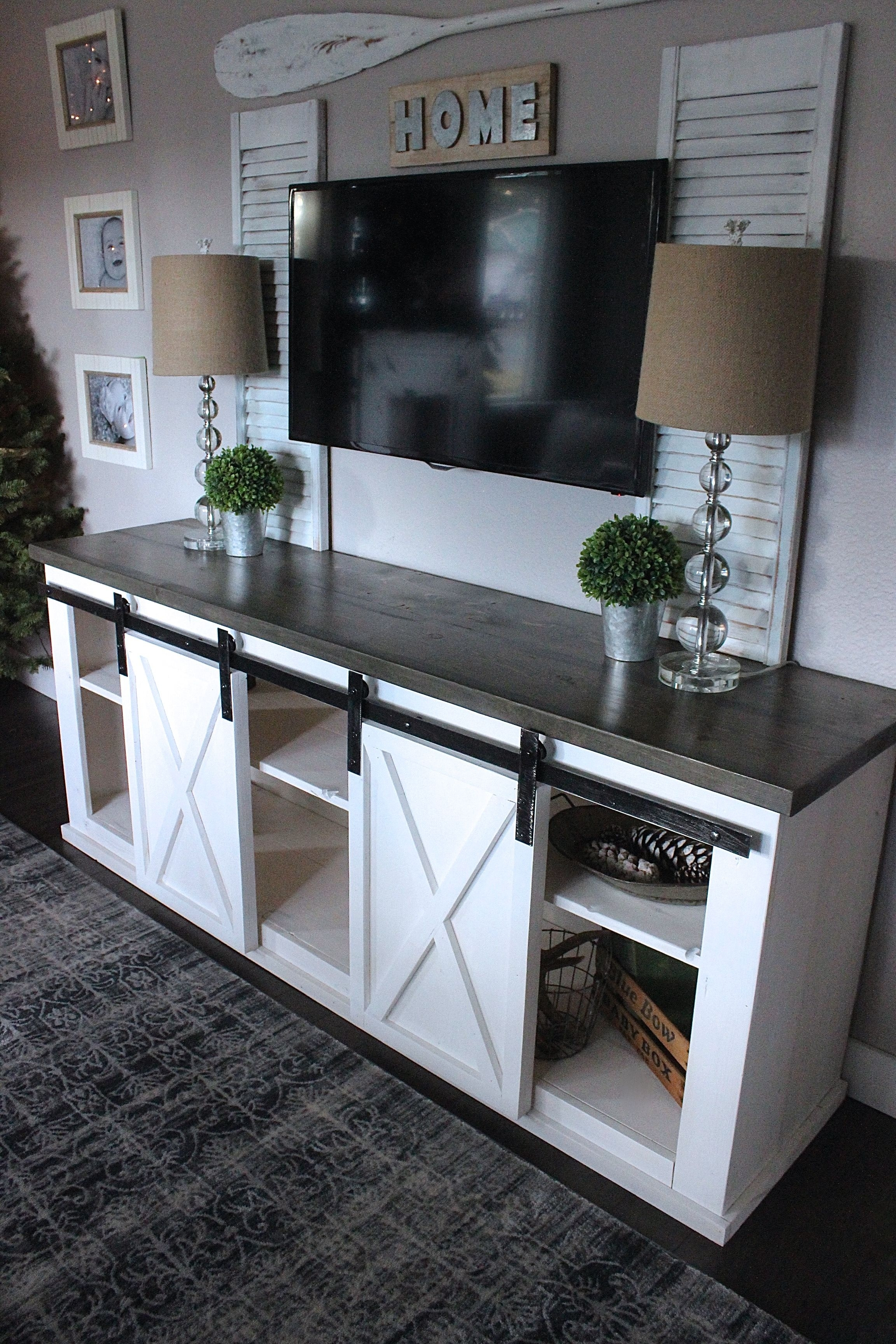 50+ Creative Diy Tv Stand Ideas For Your Room Interior | Living Intended For Newest Bale Rustic Grey 7 Piece Dining Sets With Pearson Grey Side Chairs (View 15 of 20)