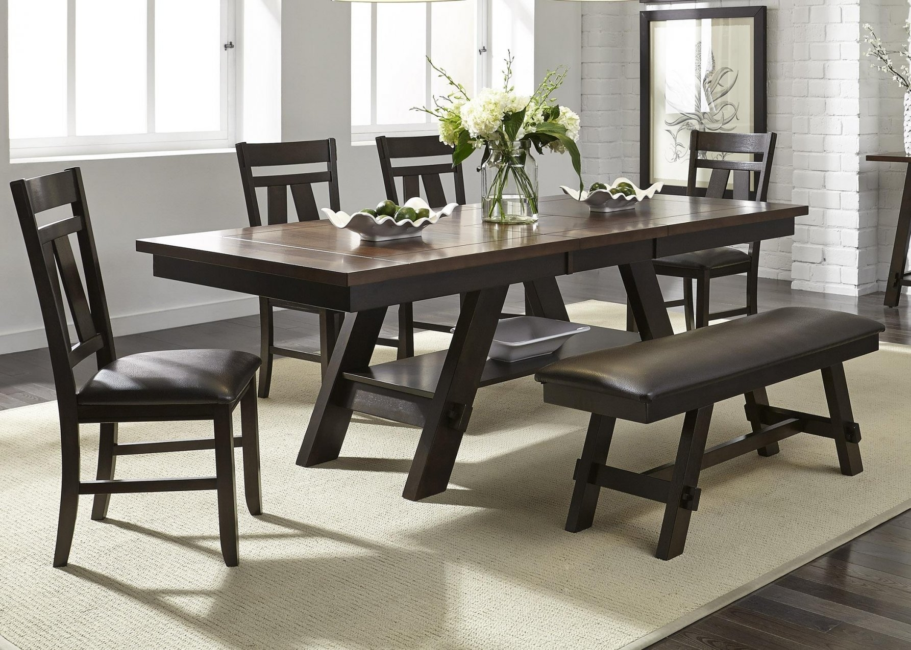 6 Piece Dining Table Set – Castrophotos In Newest Partridge 7 Piece Dining Sets (Image 1 of 20)