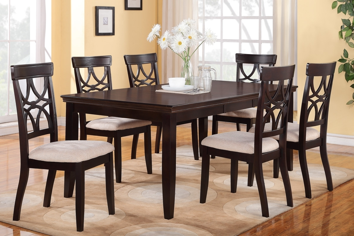 6 Piece Dining Table Set – Castrophotos Intended For Most Popular Partridge 6 Piece Dining Sets (Photo 8 of 20)