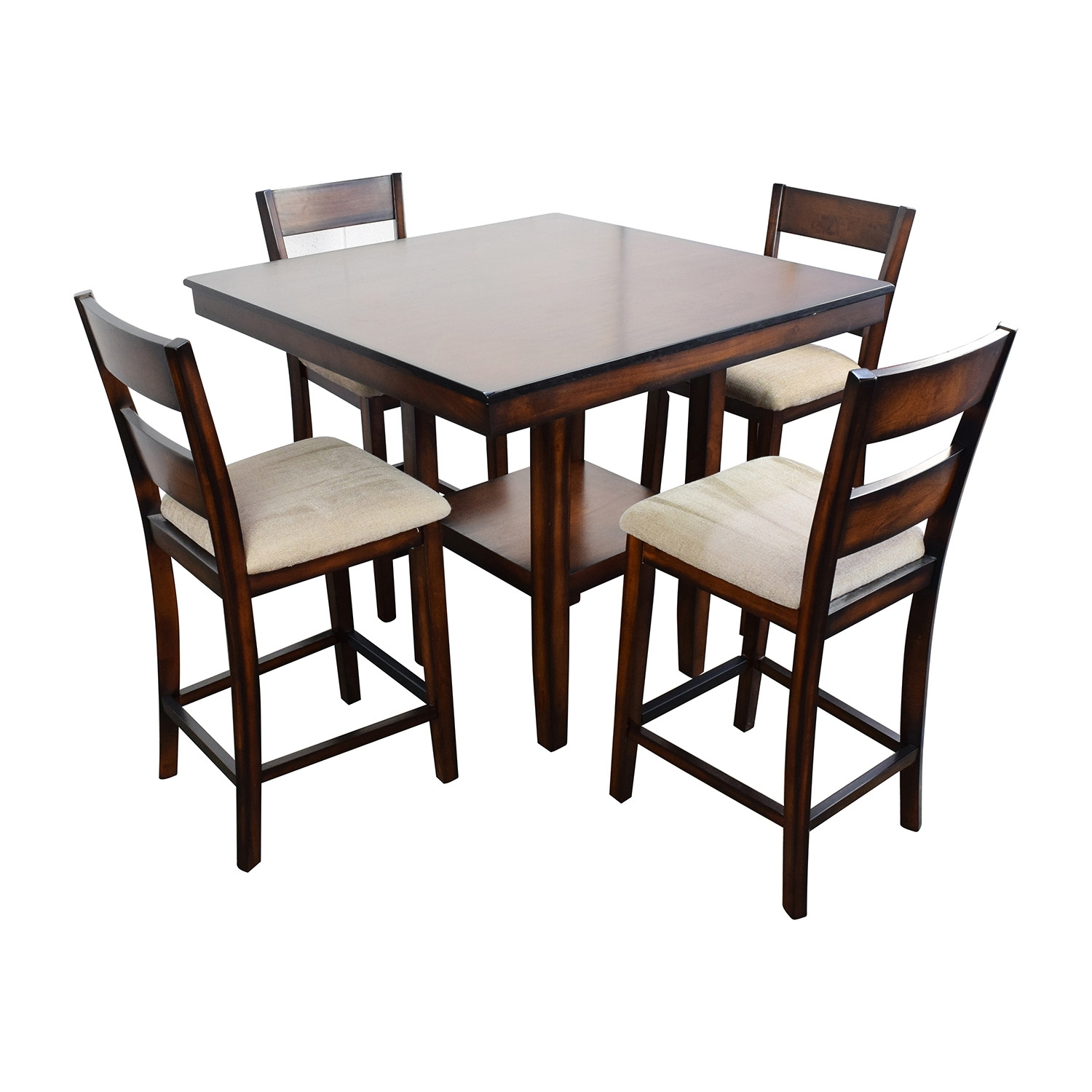 66% Off – Macy's Macy's Branton 5 Pc. Counter Height Dining Set / Tables For 2017 Macie 5 Piece Round Dining Sets (Photo 8 of 20)