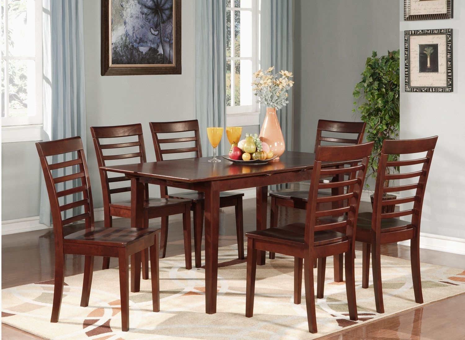 7 Piece Jamia Dining Set | Products | Pinterest | Dining Sets Regarding 2018 Candice Ii 7 Piece Extension Rectangle Dining Sets (Photo 15 of 20)