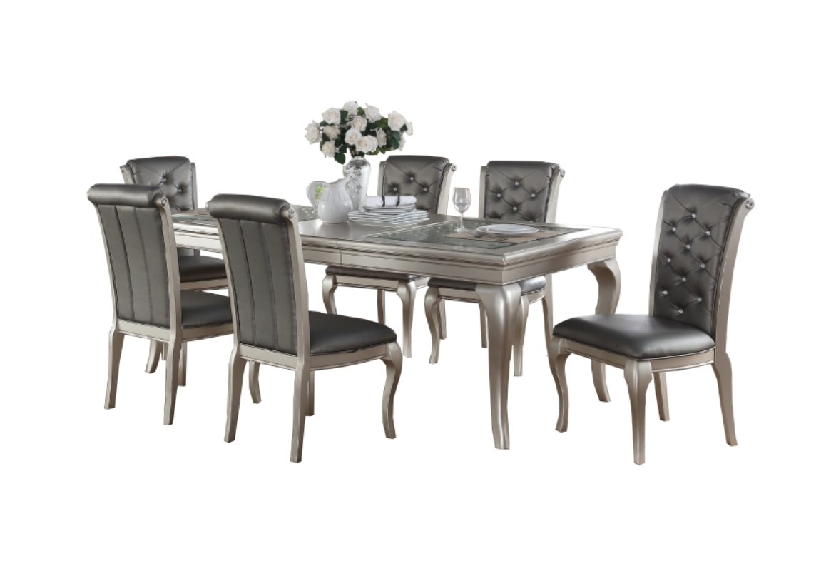 7 Piece Round Kitchen & Dining Room Sets You'll Love | Wayfair With Regard To Recent Market 7 Piece Counter Sets (Image 1 of 20)