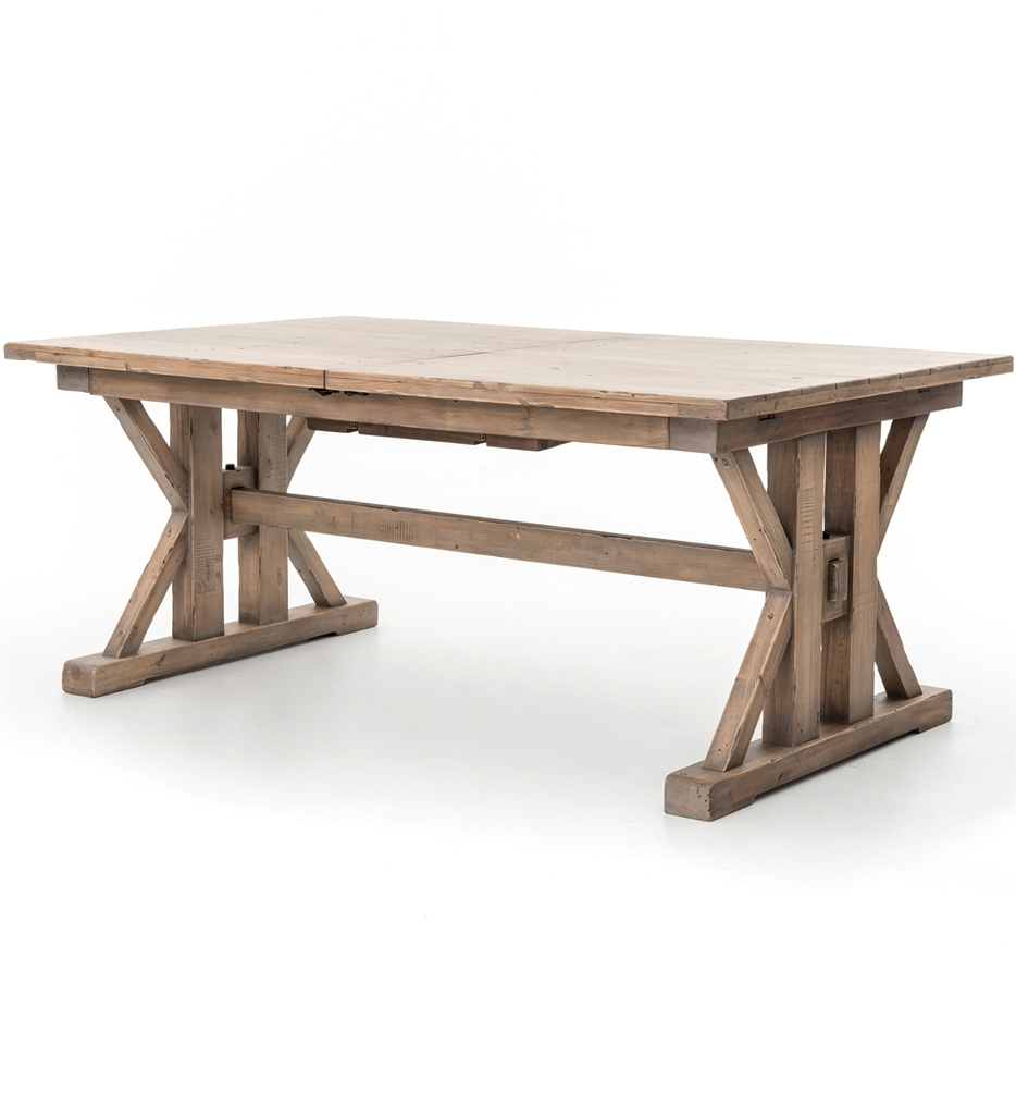 72 Inch Round Dining Table Tjihome In Most Current Valencia 72 Inch Extension Trestle Dining Tables (Photo 9 of 20)