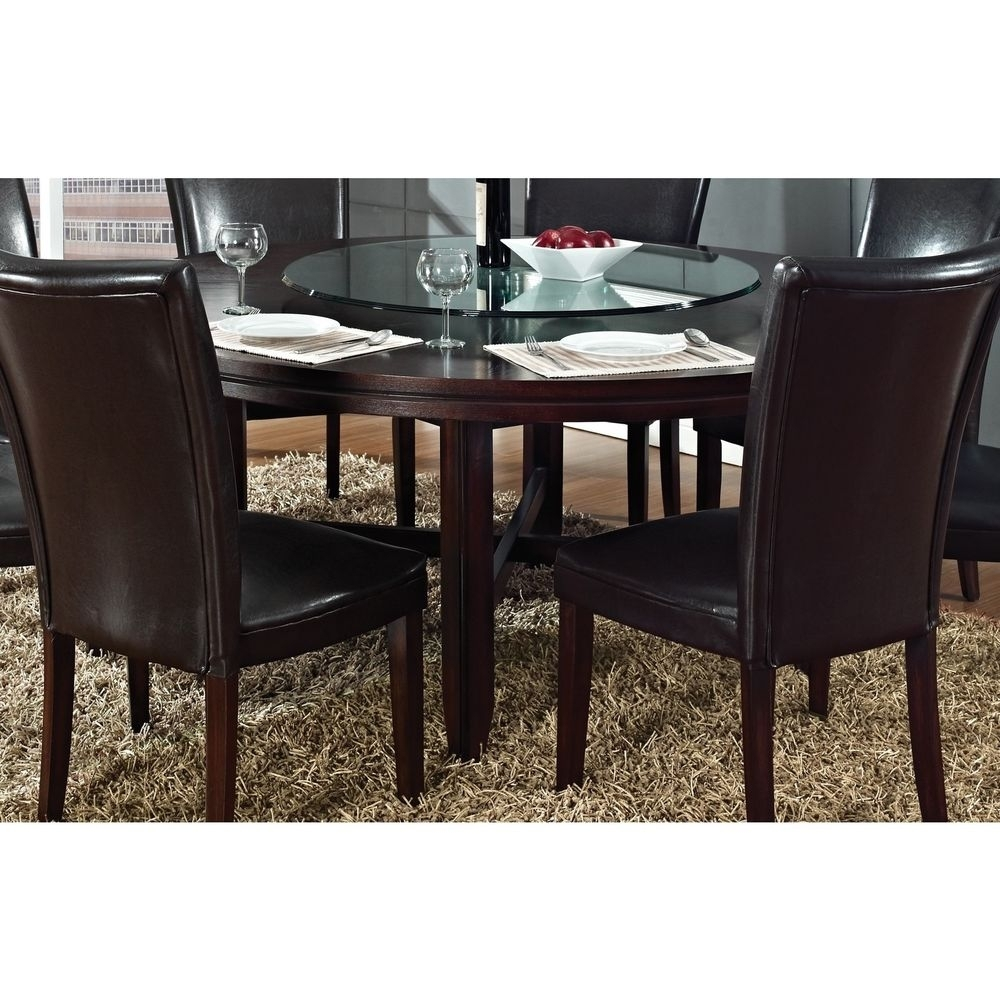 72 Inch Round Dining Table Tjihome Within Most Recent Valencia 72 Inch Extension Trestle Dining Tables (Image 3 of 20)