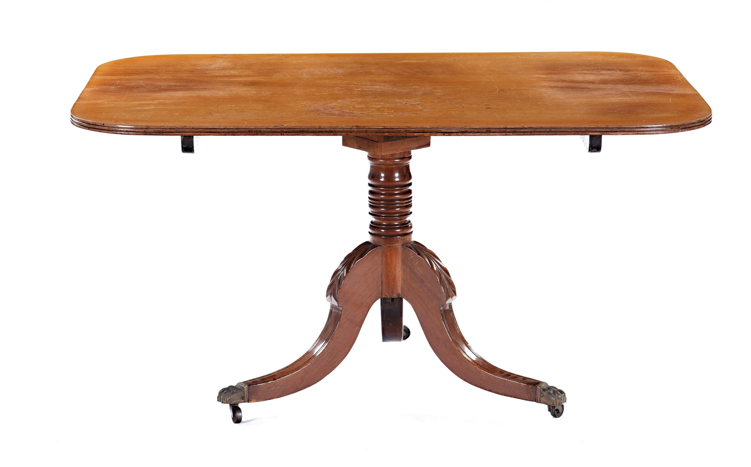 A Mahogany Dining Table, England, 19Th Century – Furnishings From Pertaining To 2017 Palazzo Rectangle Dining Tables (View 19 of 20)