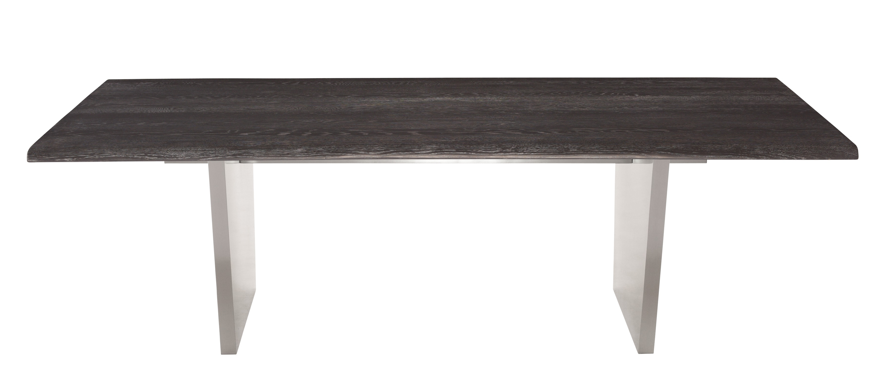 Aiden 78 Inch Rectangular Dining Table In Brushed Stainless And Inside Most Recently Released Portland 78 Inch Dining Tables (Image 2 of 20)
