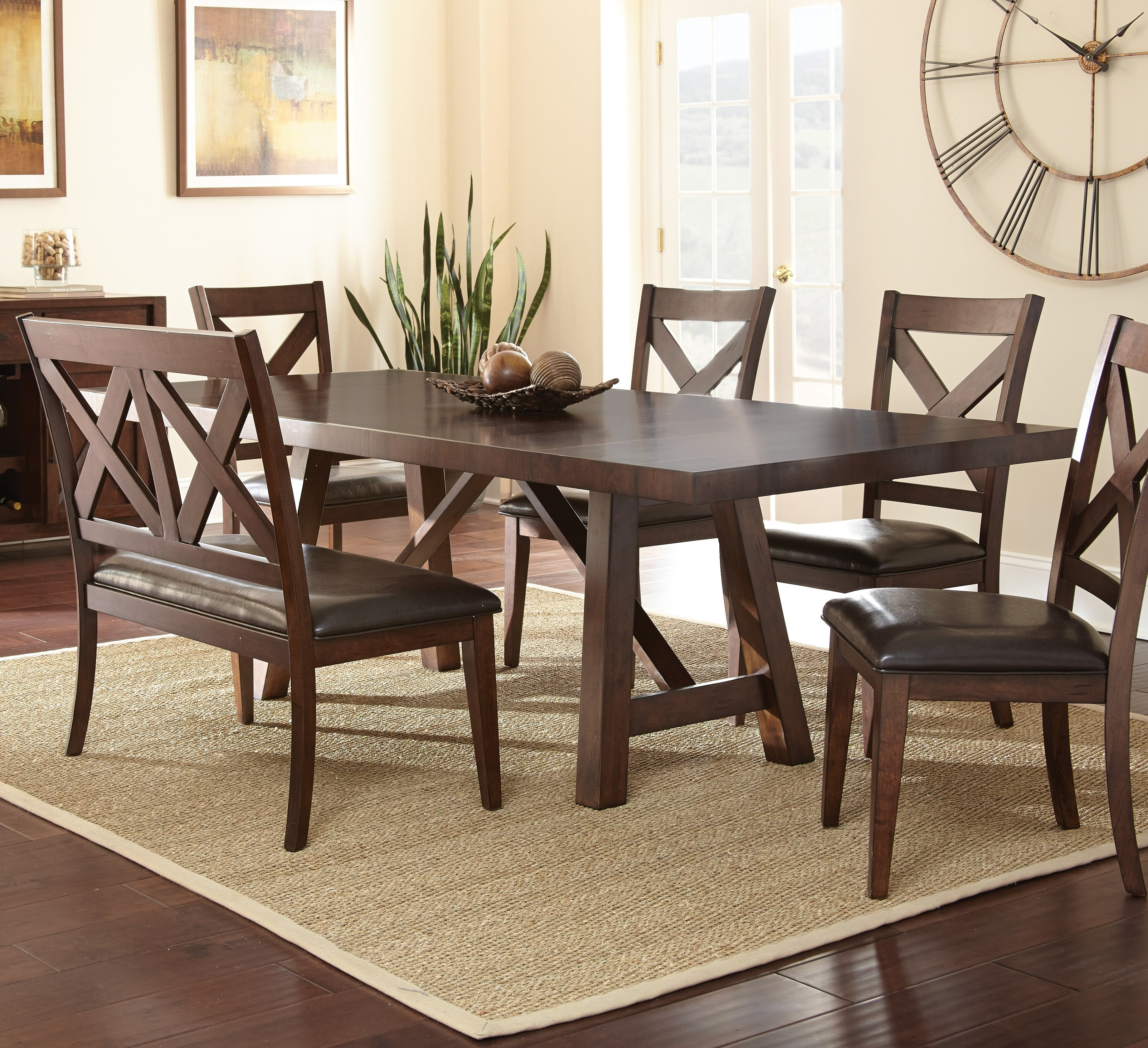 Alcott Hill Spier Place Extendable Dining Table | Wayfair Inside Most Up To Date Valencia 72 Inch Extension Trestle Dining Tables (Image 7 of 20)