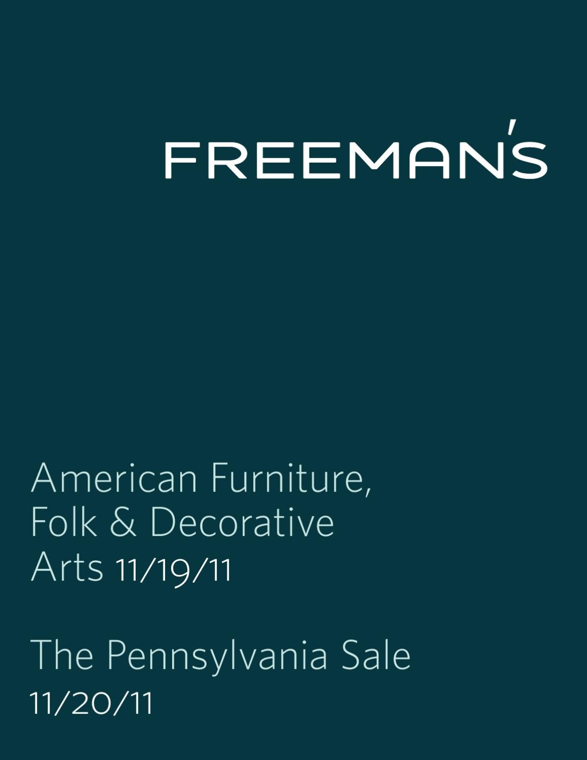 American Furniture, Decorative & Folk Artsfreeman's – Issuu Throughout Recent Combs 5 Piece 48 Inch Extension Dining Sets With Pearson White Chairs (Image 3 of 20)