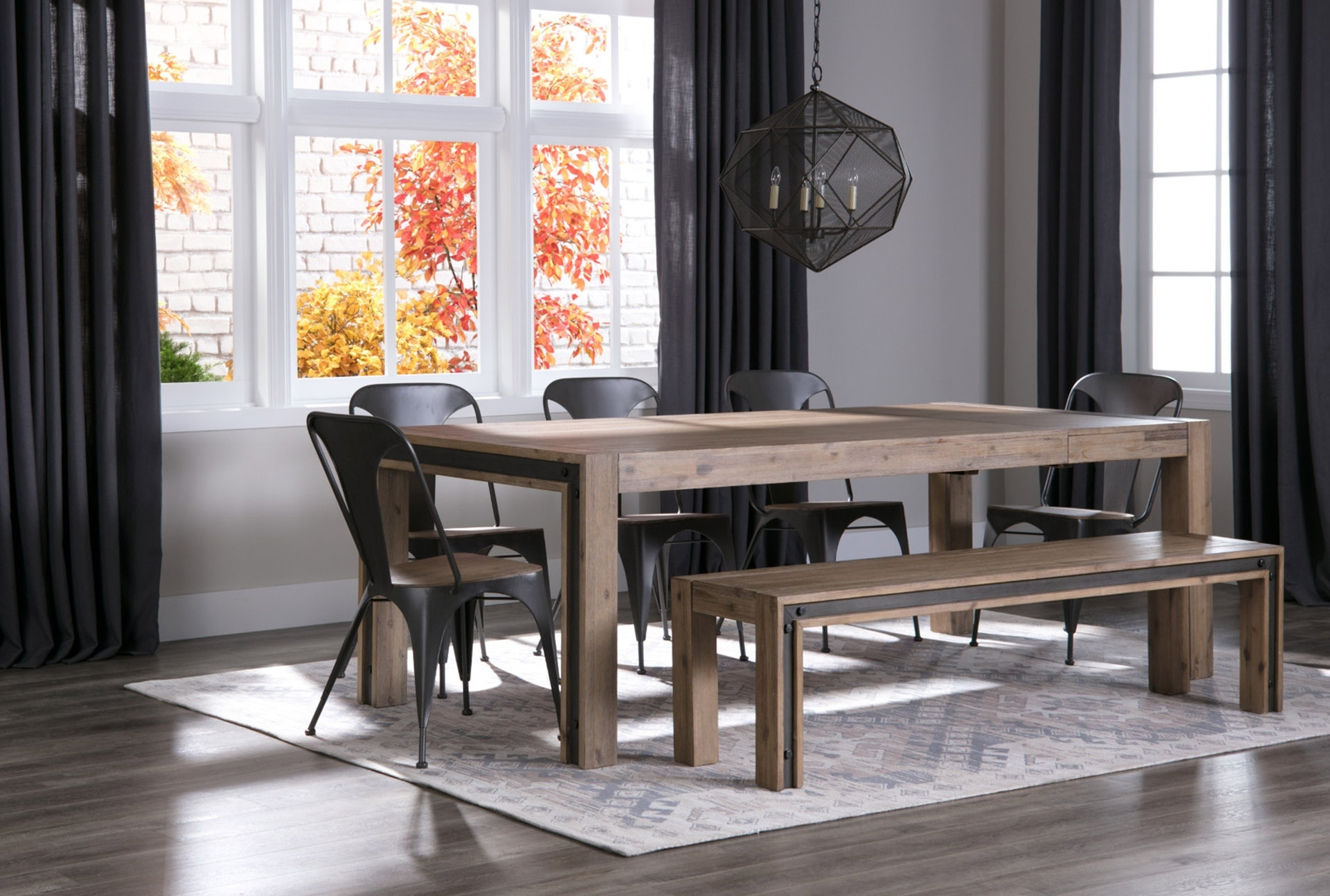Amos Bench | Products | Pinterest | Products Within Most Up To Date Amos 6 Piece Extension Dining Sets (Image 7 of 20)