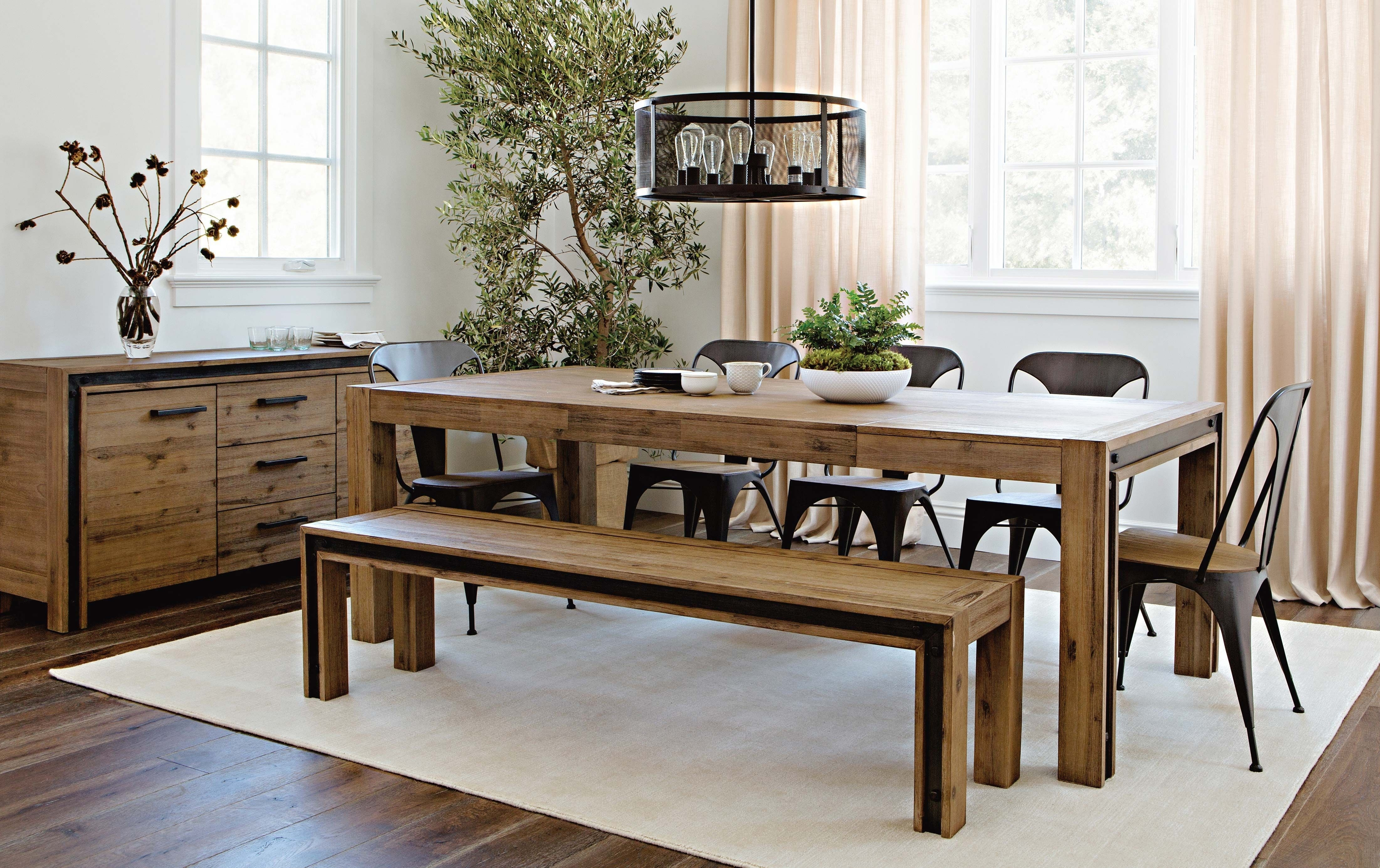 Amos Extension Dining Table, Grey | Pinterest | Construction, Woods Regarding Most Current Amos 6 Piece Extension Dining Sets (Image 10 of 20)