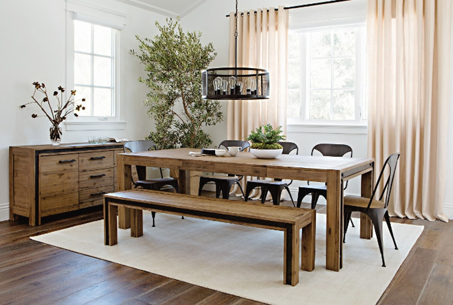 Amos Extension Dining Table House Decor With Living Spaces Dining In 2018 Mallard Extension Dining Tables (Image 1 of 20)