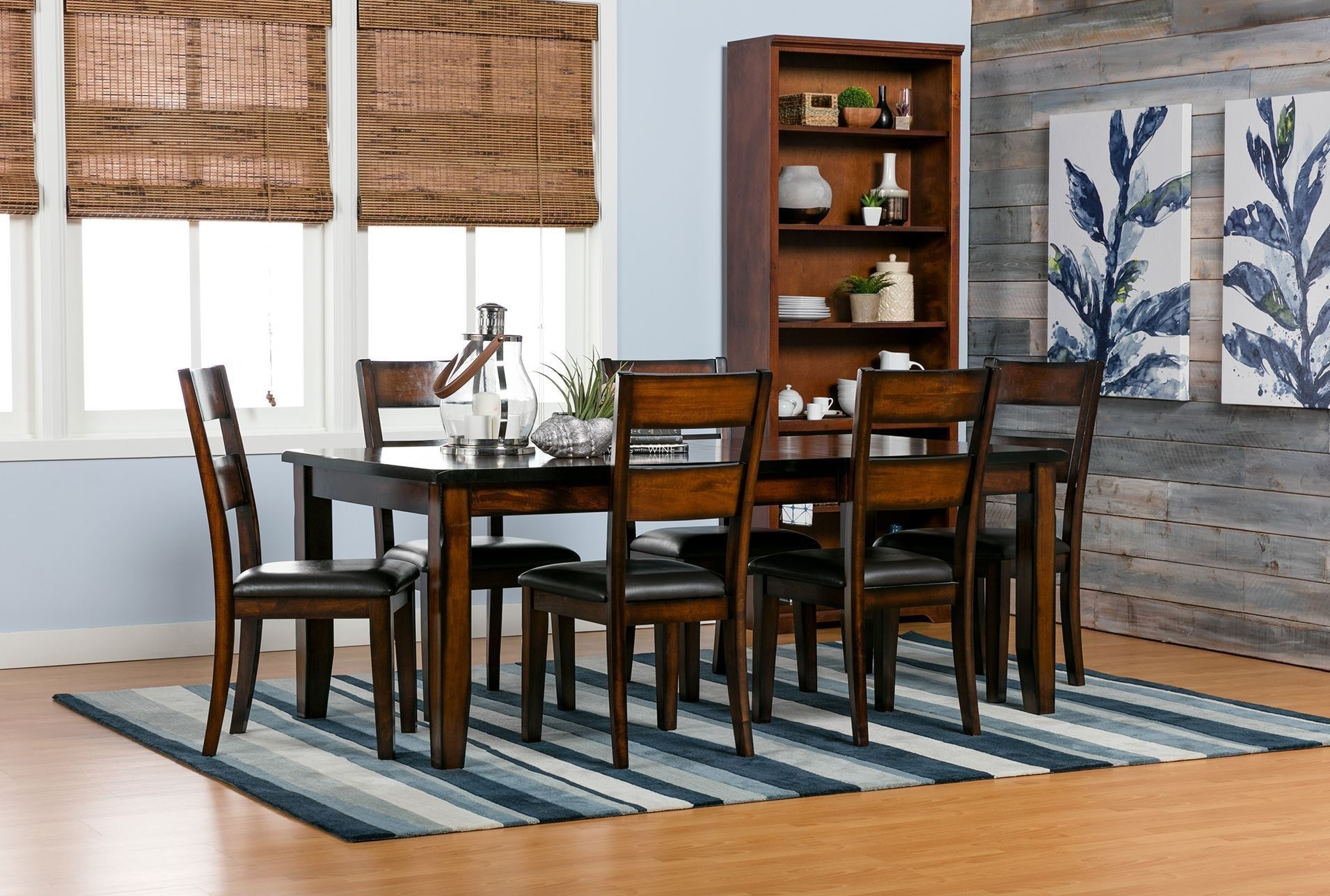 Amos Extension Dining Table House Decor With Living Spaces Dining Intended For 2018 Amos 6 Piece Extension Dining Sets (Image 9 of 20)