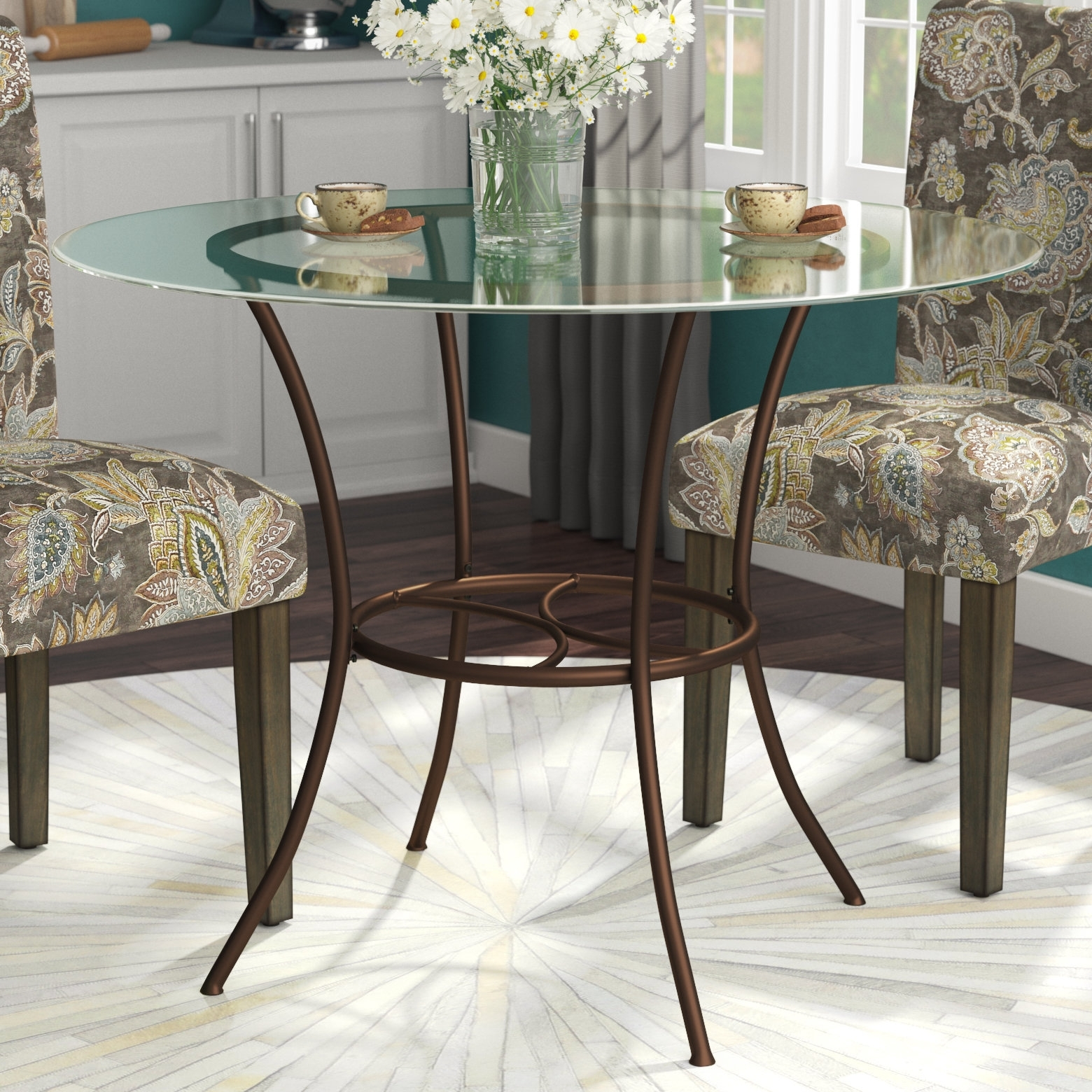 Andover Mills Jefferson Dining Table & Reviews | Wayfair Inside Most Current Jefferson Extension Round Dining Tables (Image 1 of 20)