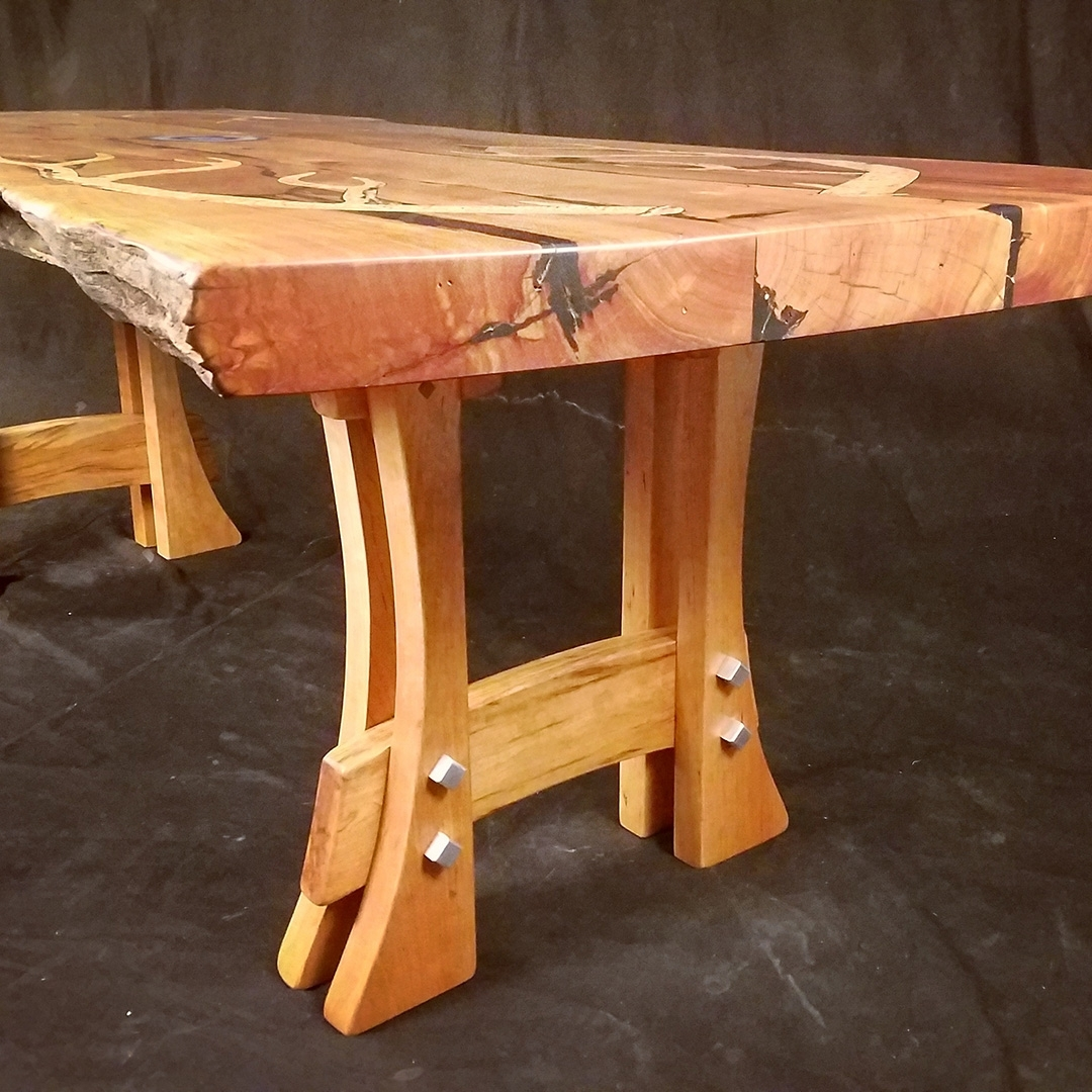 Andy & Aaron Sanchez – Furniture Artisans, Functional Art With Most Recently Released Artisanal Dining Tables (View 10 of 20)