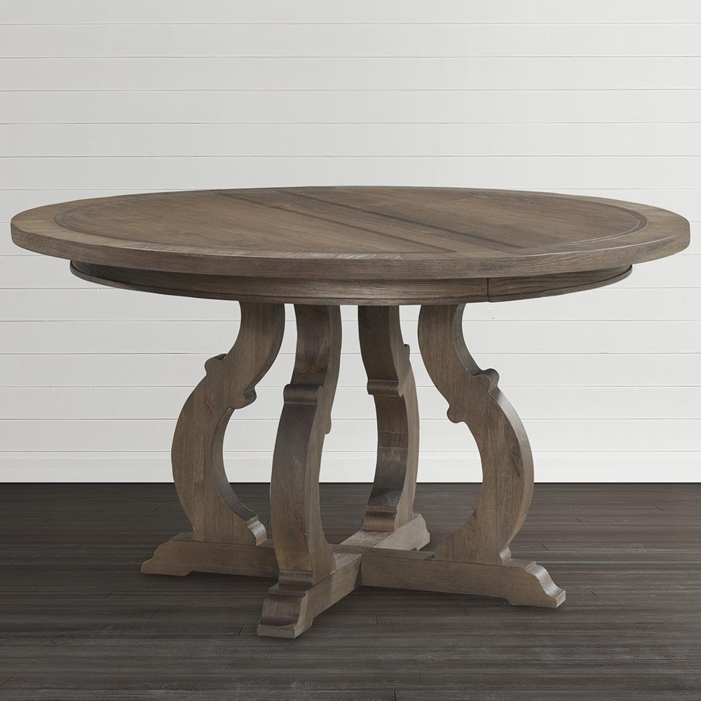 Artisan Round Dining Table | Bassett Home Furnishings With Most Current Artisanal Dining Tables (Image 3 of 20)
