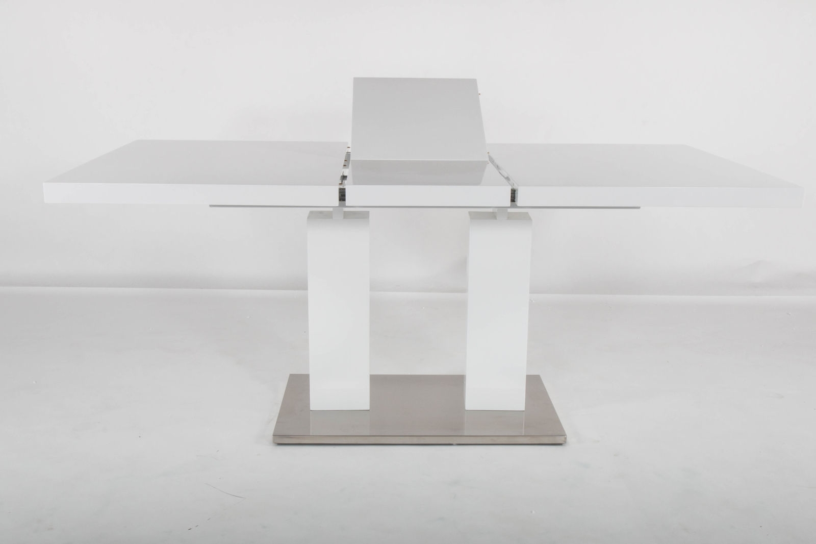 At Home Usa Delfina Expandable Dining Table | Ebay With Latest Delfina Dining Tables (Image 3 of 20)