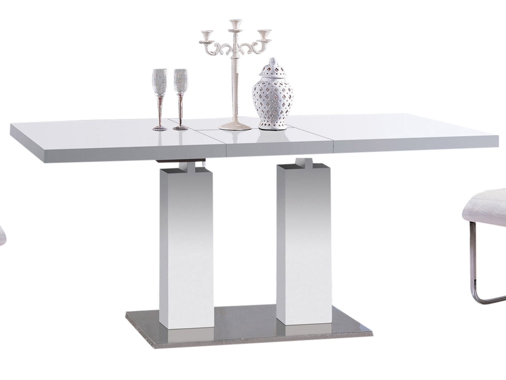 At Home Usa Delfina Expandable Dining Table & Reviews | Wayfair Throughout Best And Newest Delfina Dining Tables (Image 2 of 20)