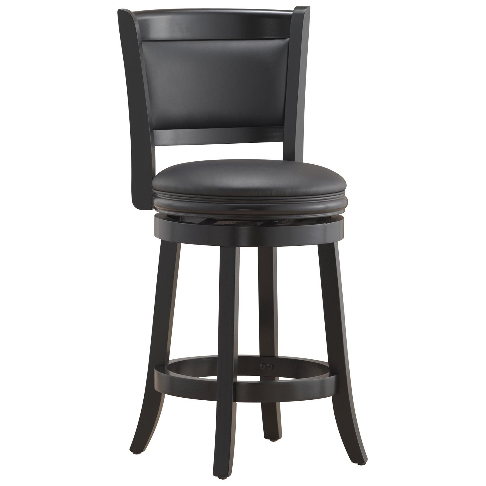 "Augusta Swivel Counter Stool 24"", Multiple Colors – Walmart Within Most Current Valencia 4 Piece Counter Sets With Bench & Counterstool (Image 1 of 20)"