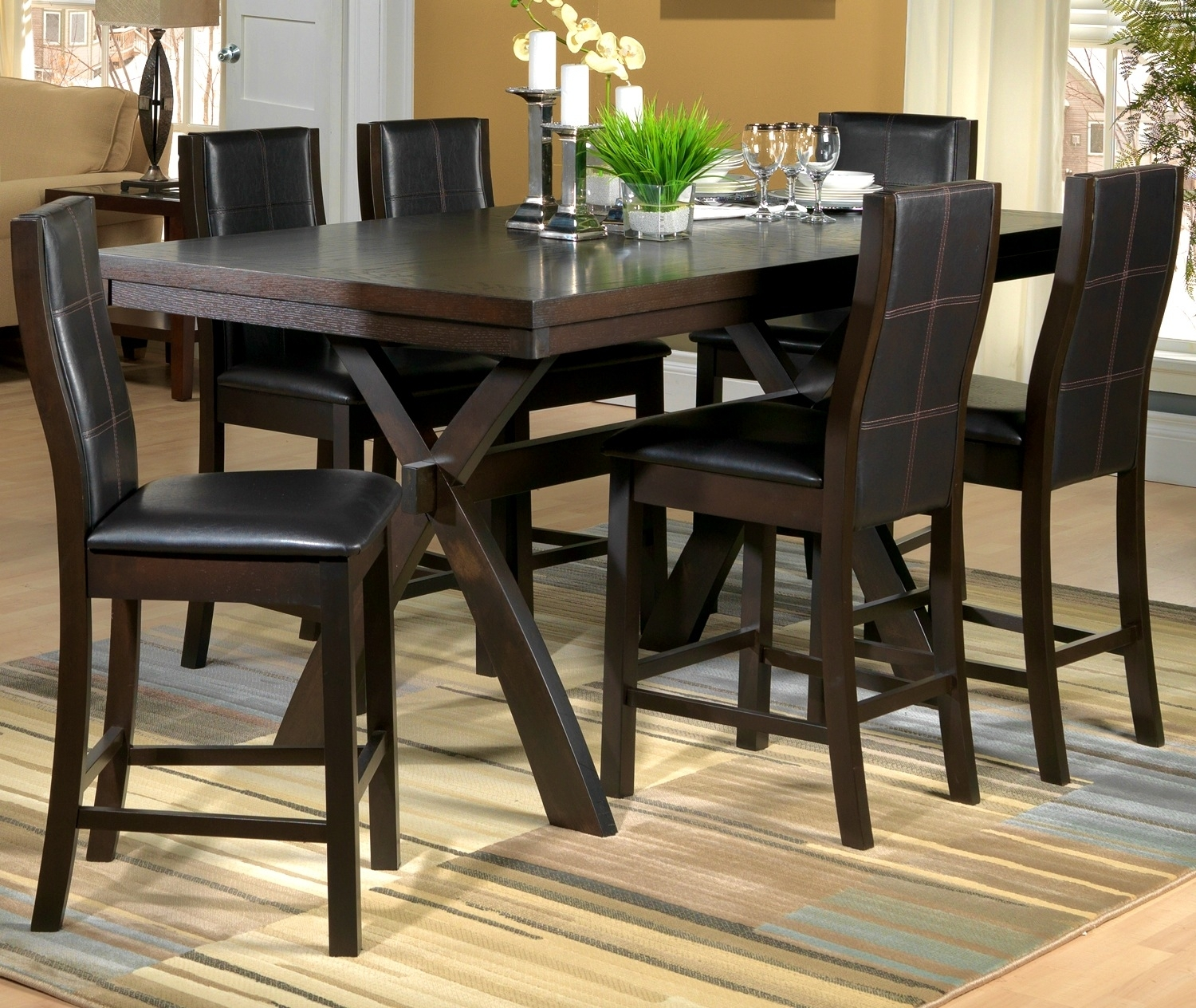 Costco Dining Room Furniture: Top 20 Leon 7 Piece Dining Sets