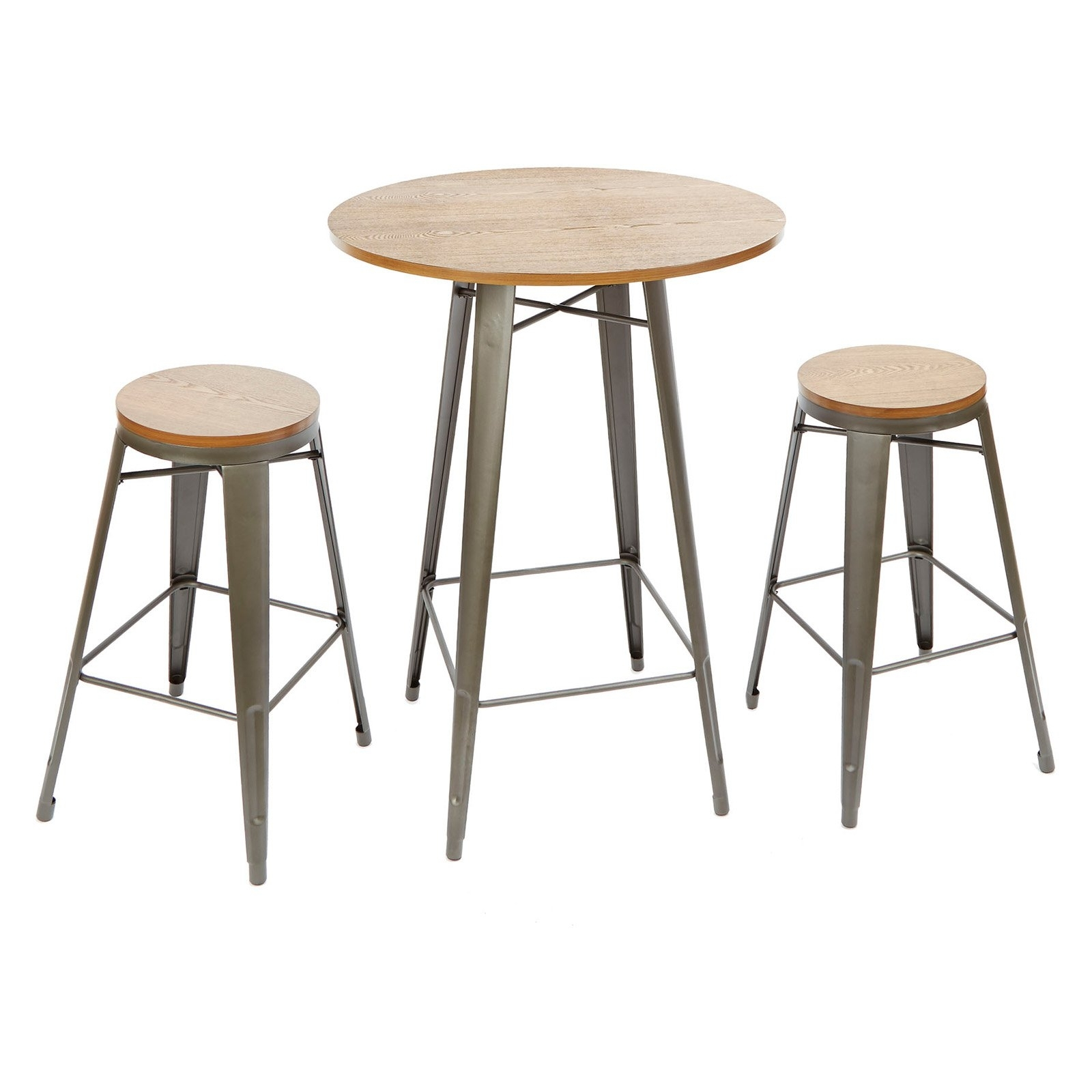 Better Homes And Gardens Harper 3 Piece Pub Set, Multiple Colors Within Recent Harper 5 Piece Counter Sets (Image 5 of 20)