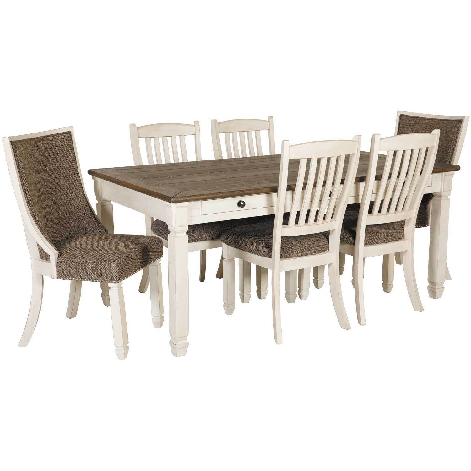 Featured Image of Market 7 Piece Dining Sets With Host And Side Chairs