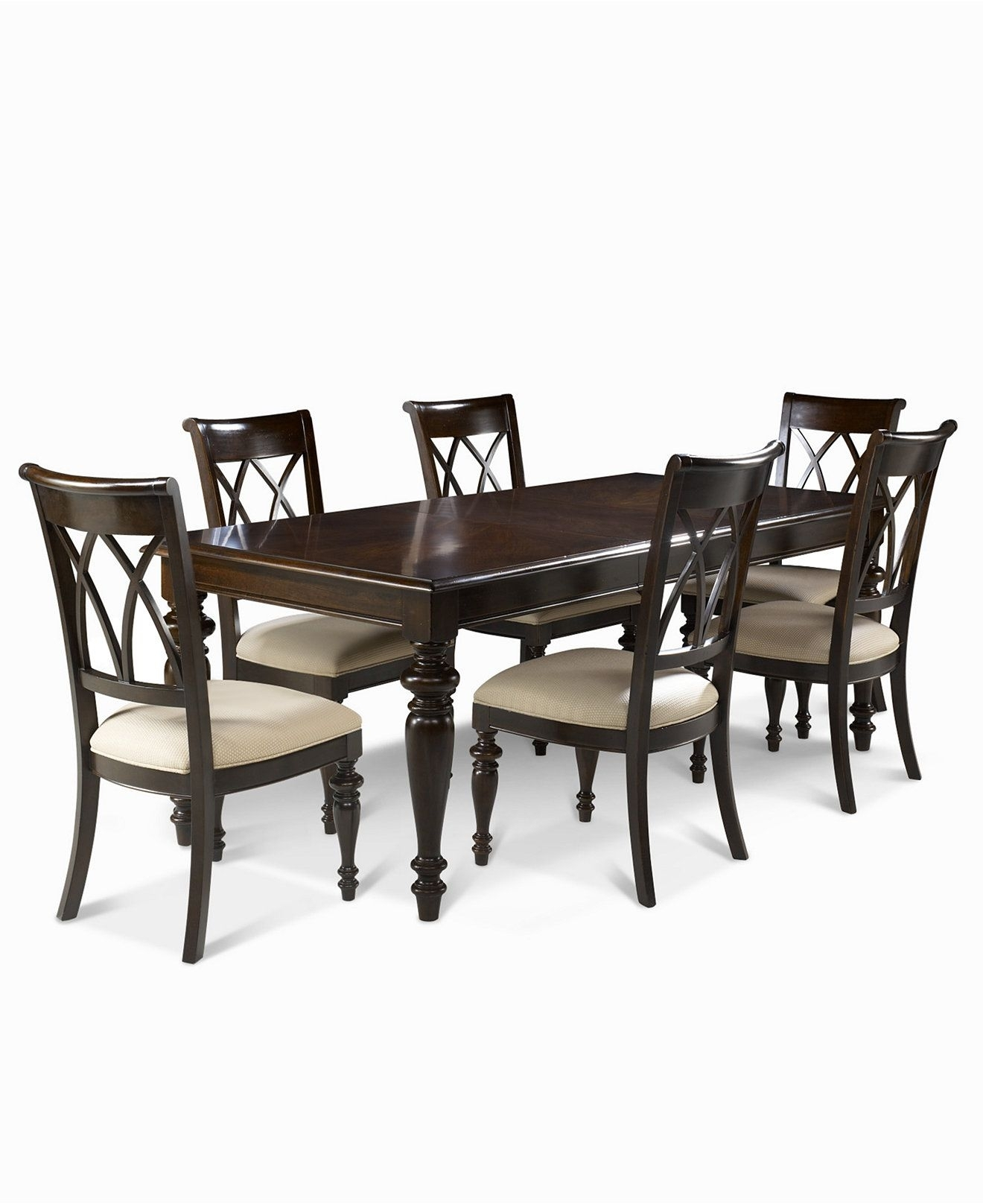 Bradford 7 Piece Dining Room Furniture Set (Table & 6 Side Chairs With Regard To 2018 Bradford Dining Tables (View 15 of 20)