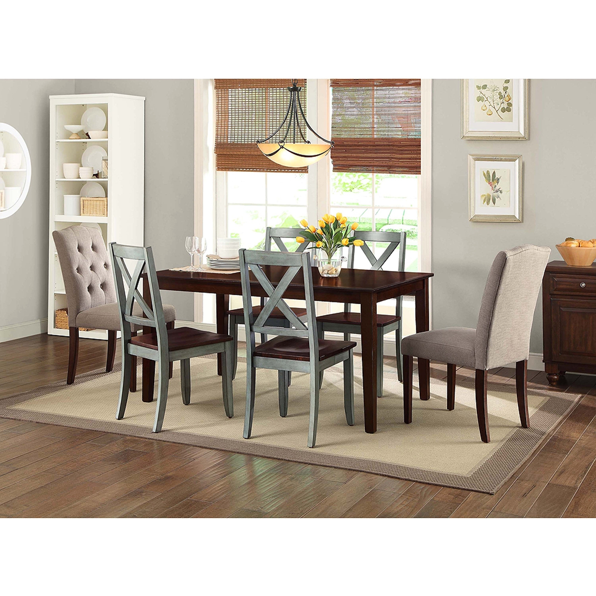 Breathtaking 7 Piece Dining Set With Bench Tips | Bank Of Ideas Within Current Partridge 7 Piece Dining Sets (Image 5 of 20)