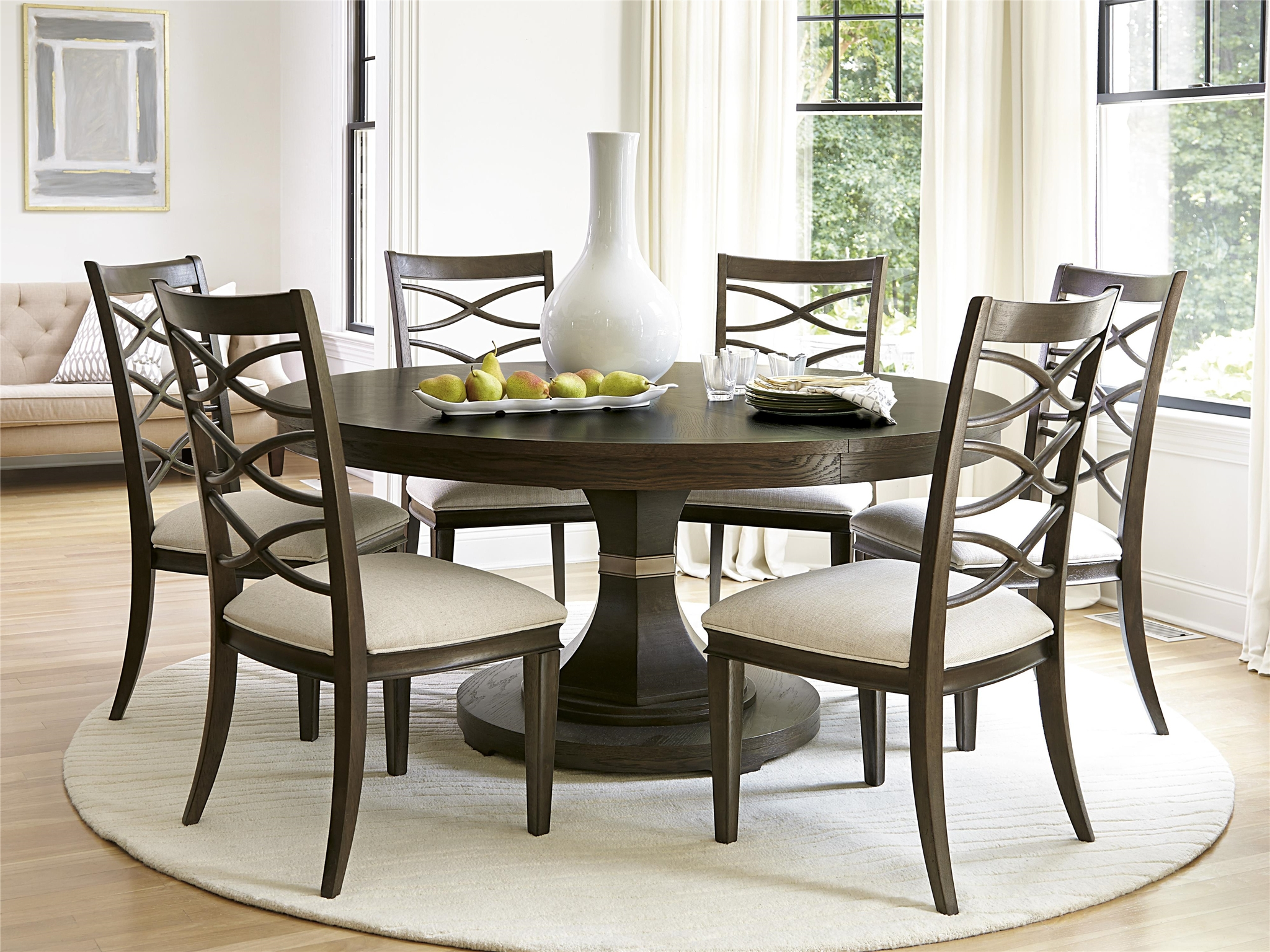 Brilliant Ideas Of Round Dining Room Table With Grady Round Dining Throughout 2017 Grady 5 Piece Round Dining Sets (Image 3 of 20)