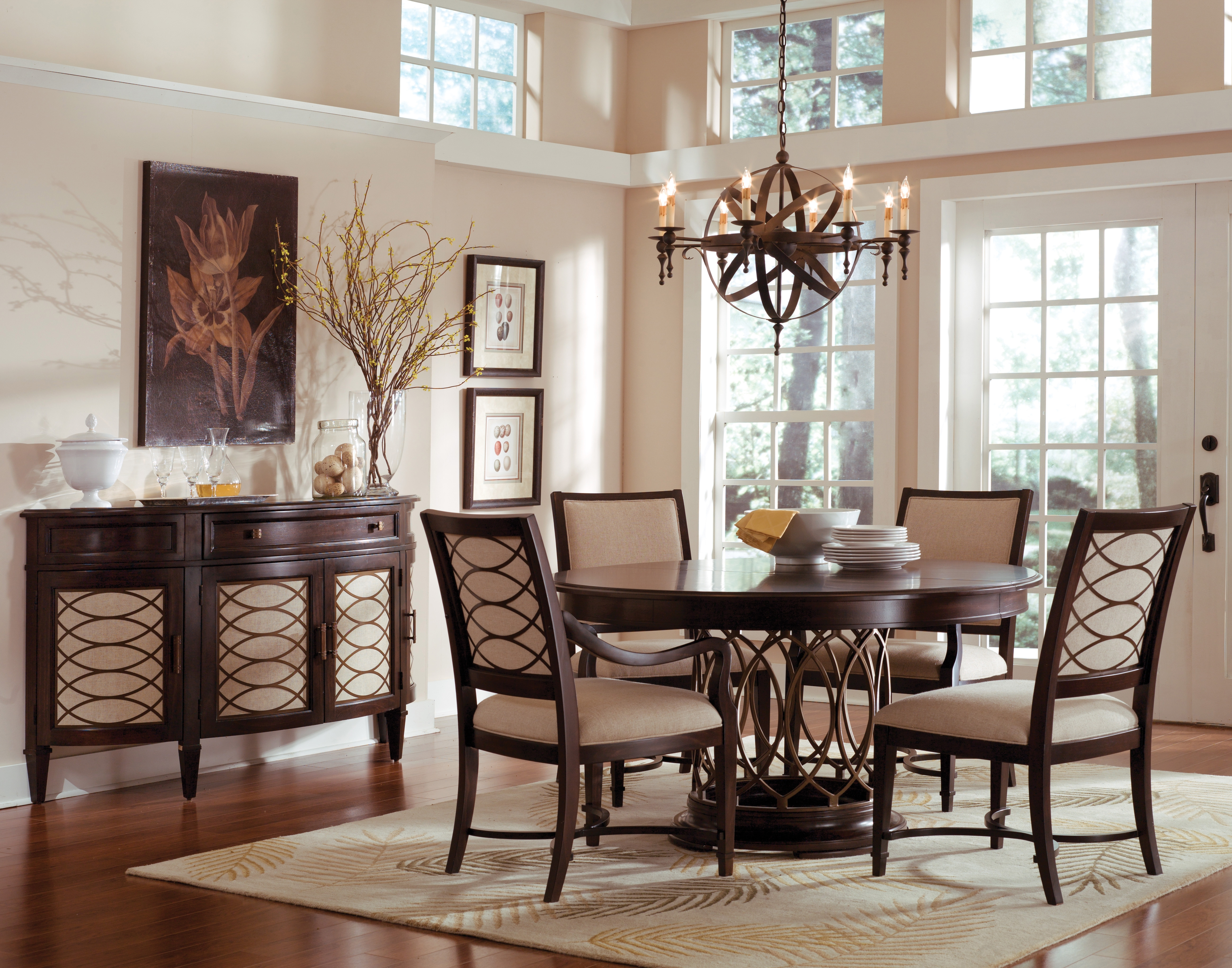 Brilliant Ideas Of Round Dining Room Table With Grady Round Dining With Regard To Most Up To Date Grady Round Dining Tables (Image 4 of 20)