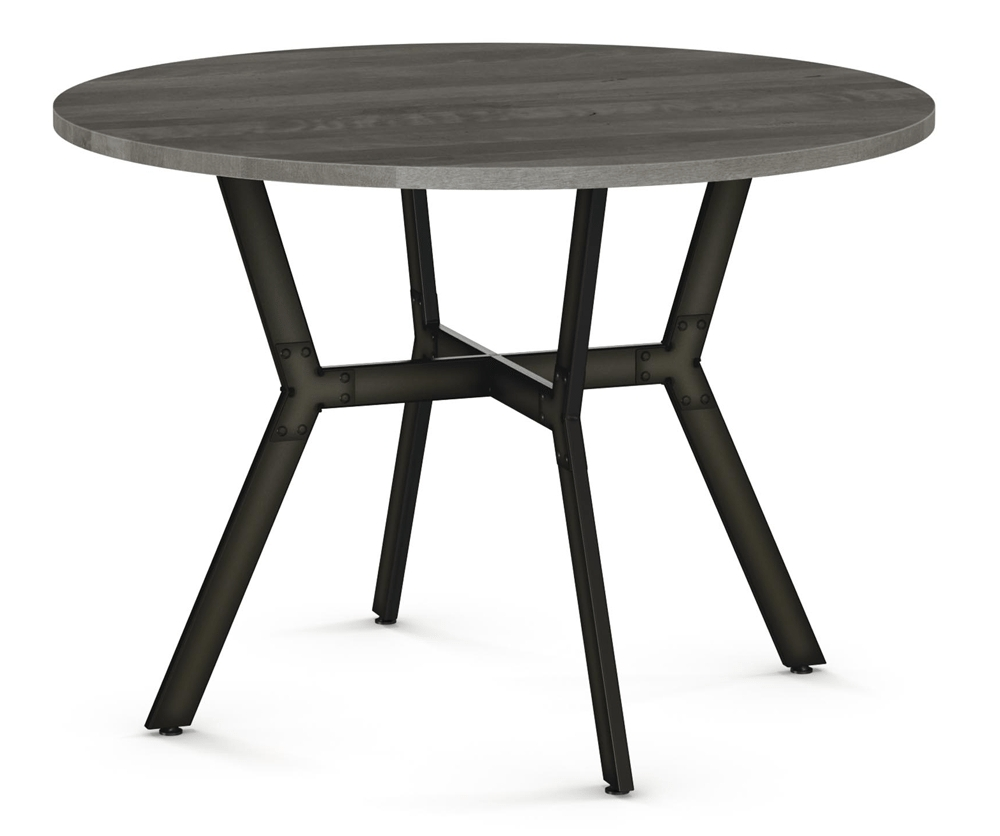 Brisk Round Dining Table – Decorium Furniture For Most Recently Released Jaxon Grey Round Extension Dining Tables (Image 4 of 20)