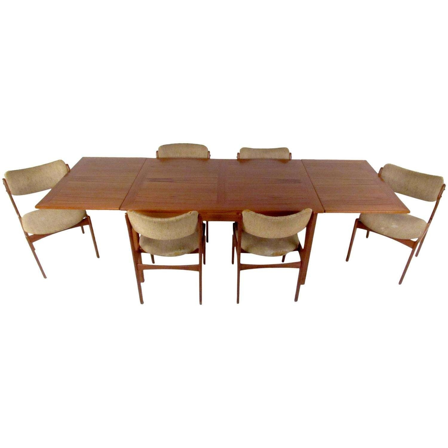 Bristol Dining Table Fresh Mid Century Dining Set With Table And With Regard To Most Up To Date Magnolia Home English Country Oval Dining Tables (Image 2 of 20)