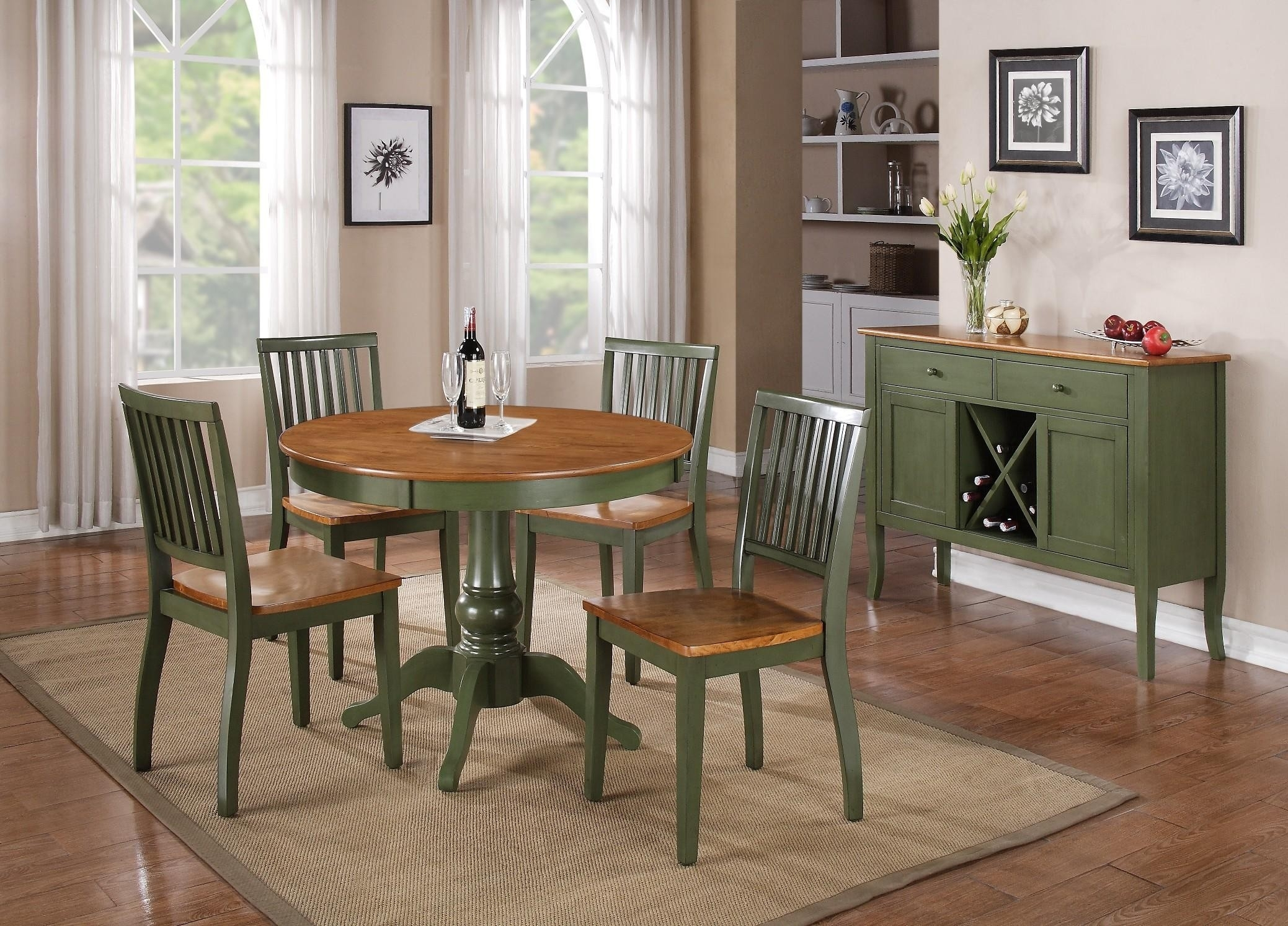 Buy Candice Round Pedestal Dining Room Setsteve Silver From Www Pertaining To Best And Newest Candice Ii Round Dining Tables (Image 4 of 20)