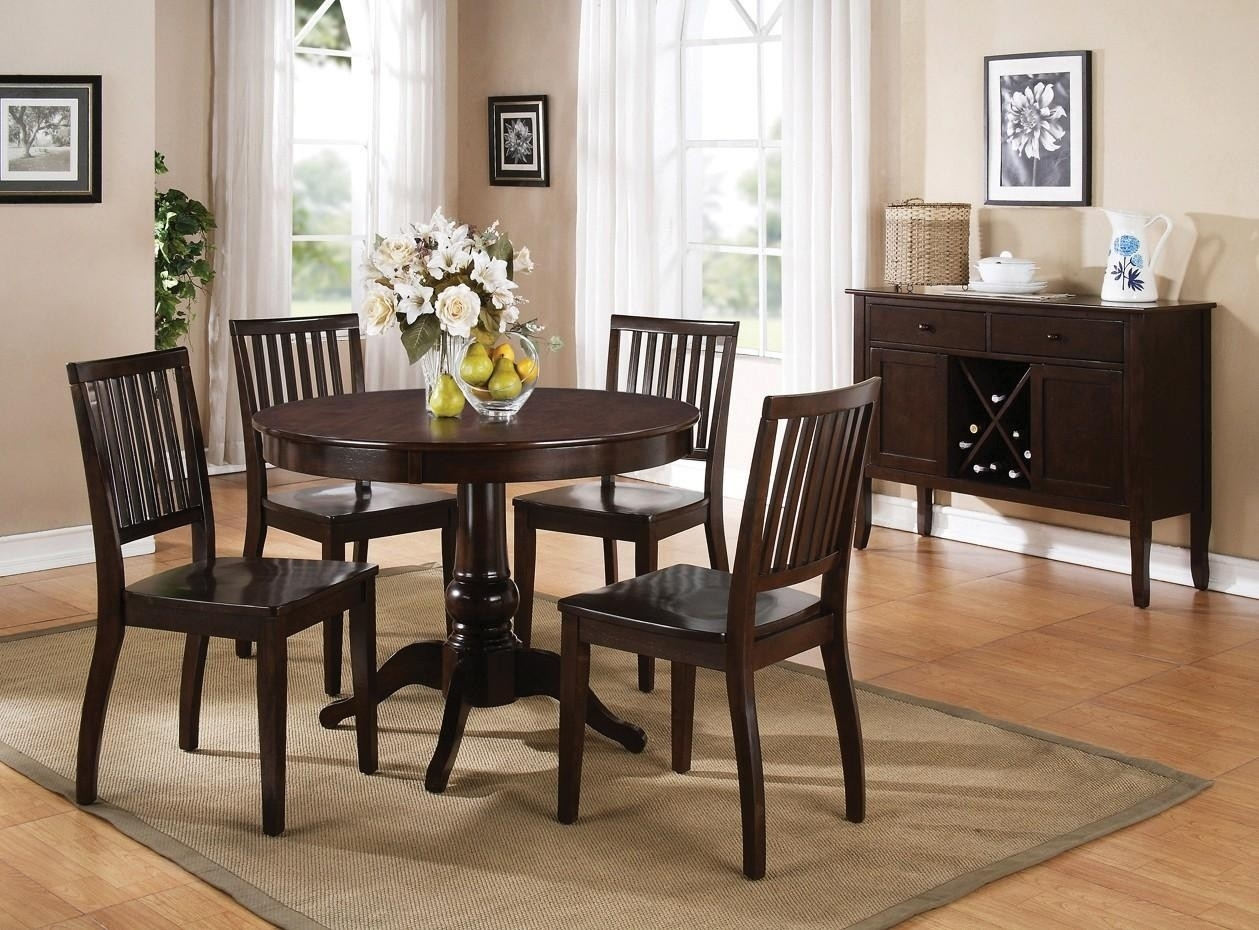 Buy Candice Round Pedestal Dining Room Setsteve Silver From Www Pertaining To Newest Candice Ii Round Dining Tables (Image 5 of 20)