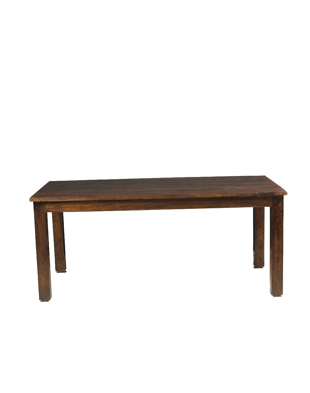 Buy Fabindia Brown Sheesham Retro Rectangle Dining Table Online Inside Best And Newest Palazzo Rectangle Dining Tables (Image 4 of 20)