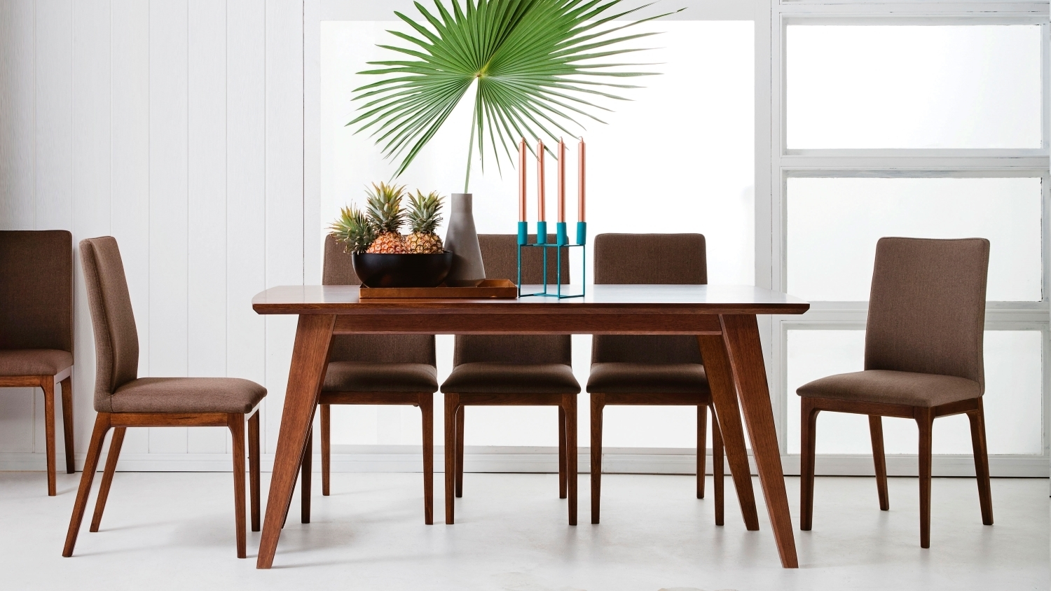 Buy Laren 7 Piece Dining Setting | Domayne Au Regarding Most Current Laurent 7 Piece Rectangle Dining Sets With Wood And Host Chairs (Image 5 of 20)