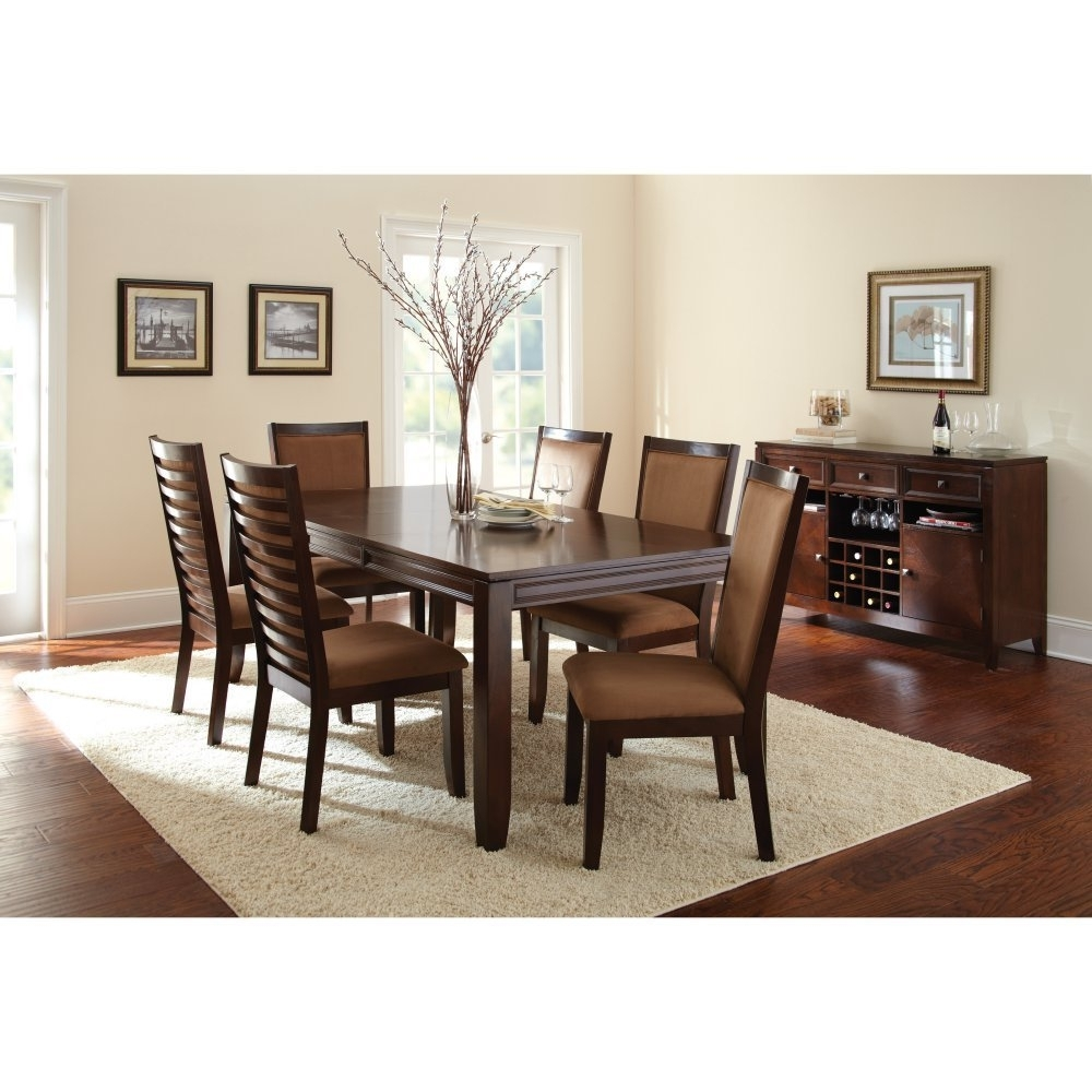 Buy Steve Silver Carrolton 9 Piece Dining Table Set With Optional In Most Current Candice Ii 7 Piece Extension Rectangular Dining Sets With Slat Back Side Chairs (View 20 of 20)