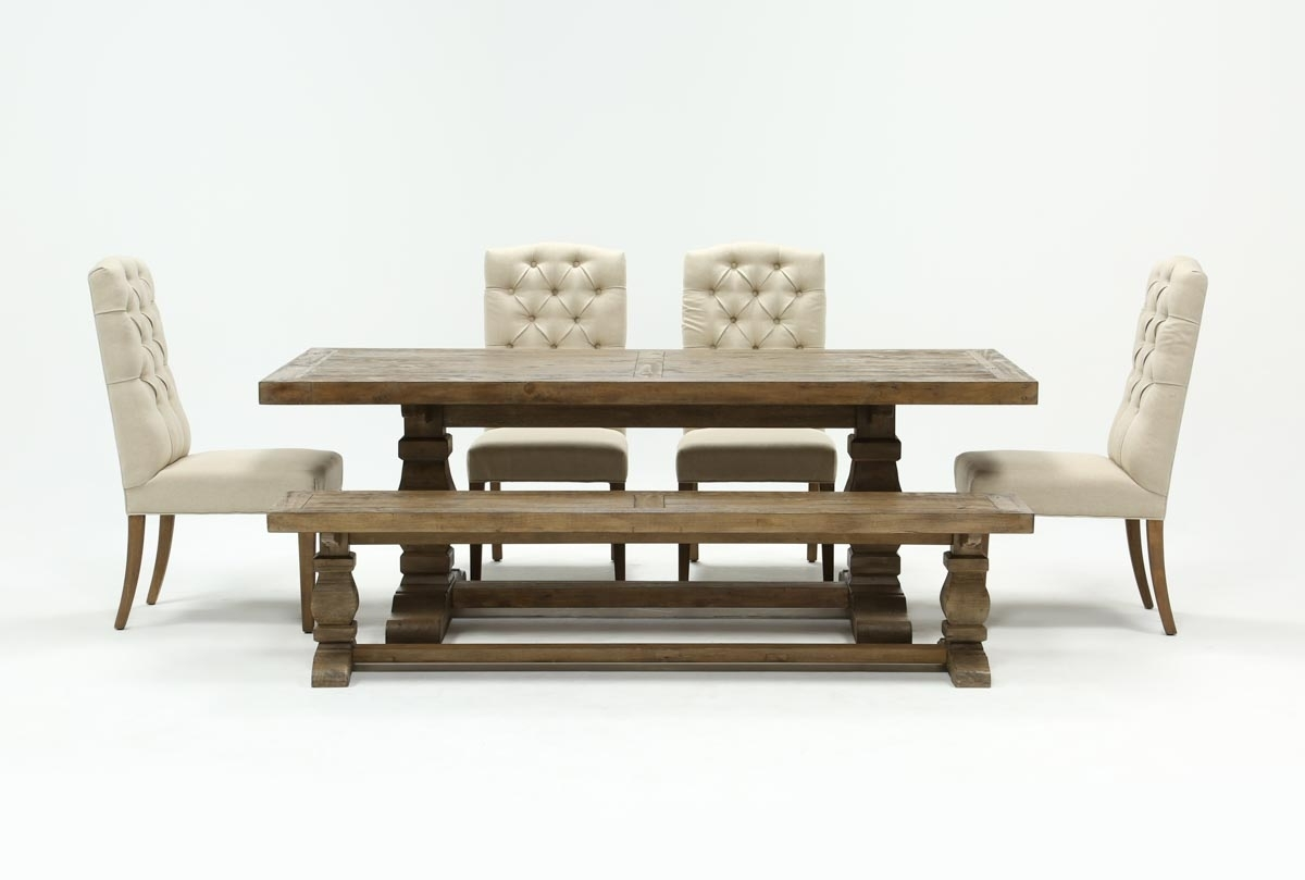 Featured Image of Caden 6 Piece Dining Sets With Upholstered Side Chair