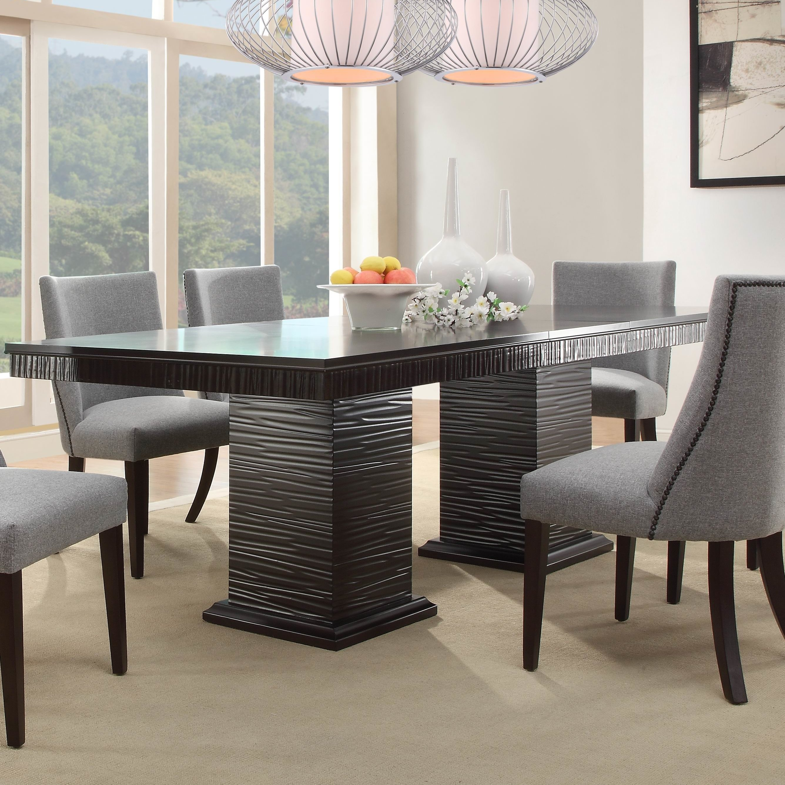 Cadogan Extendable Dining Table | Allmodern Pertaining To Current Delfina Dining Tables (Image 6 of 20)